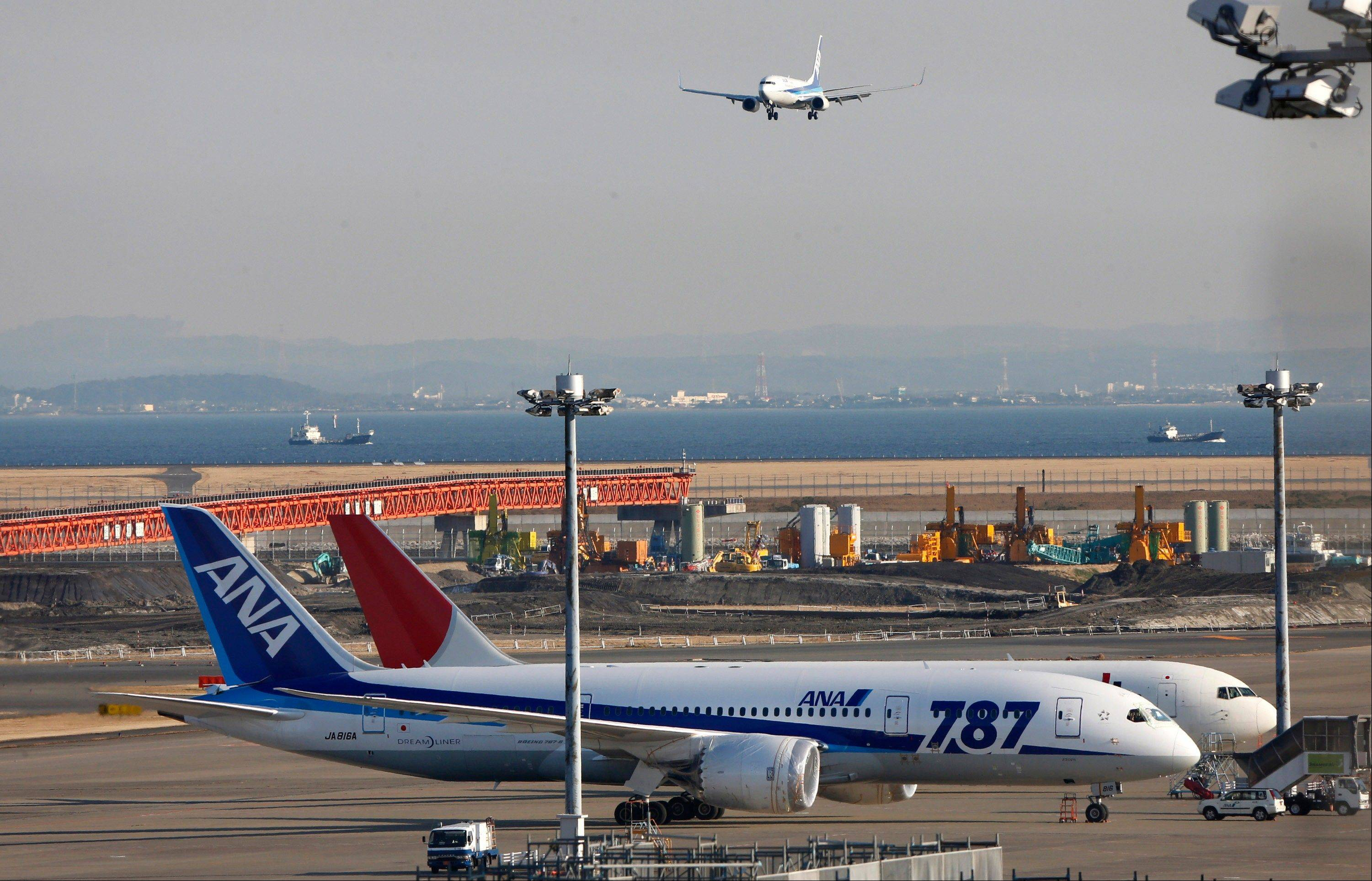 Japan's Civil Aviation Bureau is sending investigators looking into problems with Boeing 787 batteries to Seattle, where the aircraft are assembled.