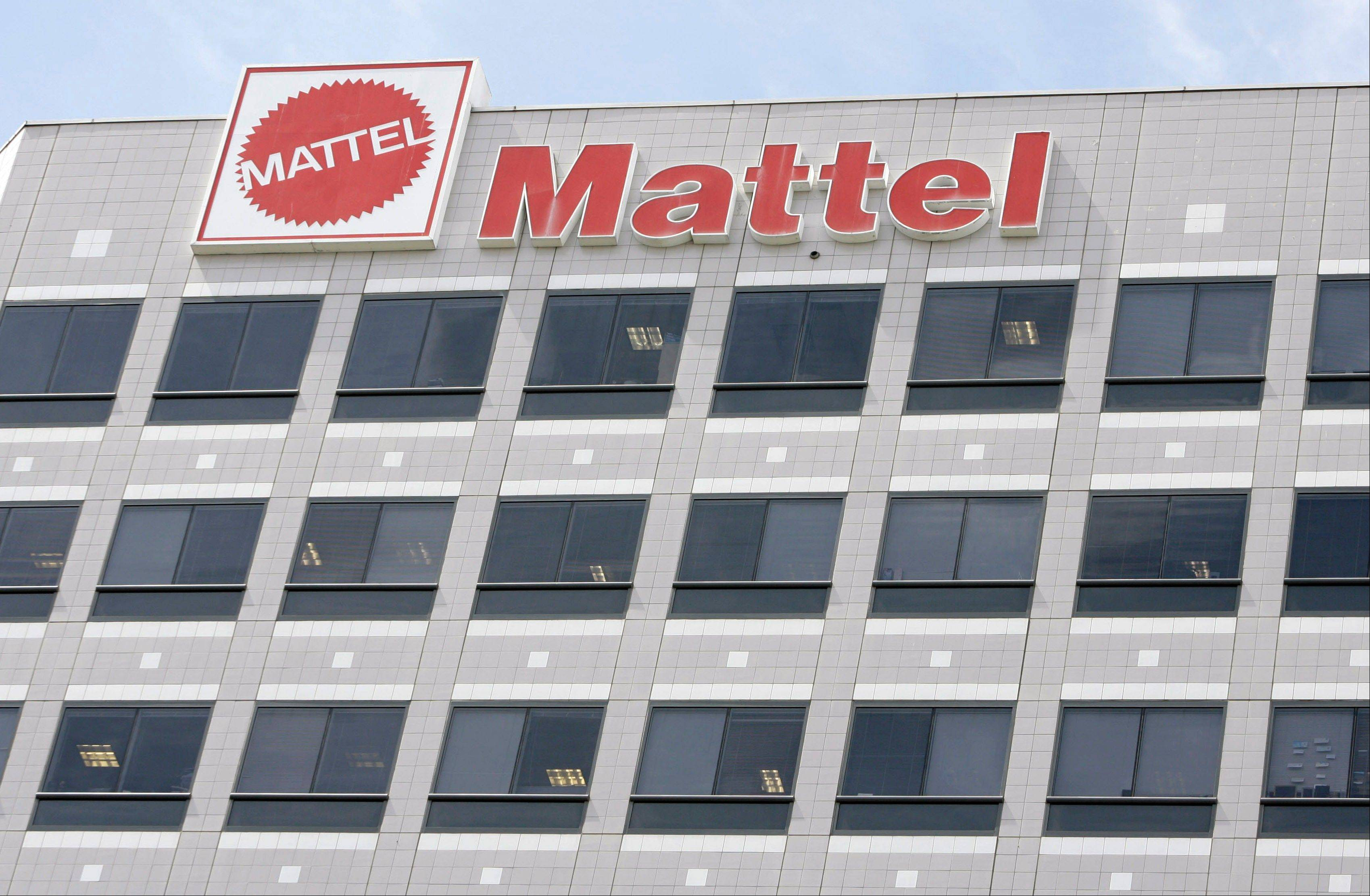 Barbie maker Mattel Inc.�s fourth-quarter net income fell 17 percent, weighed down by a litigation charge. Its performance missed Wall Street�s expectations for the critical holiday period.