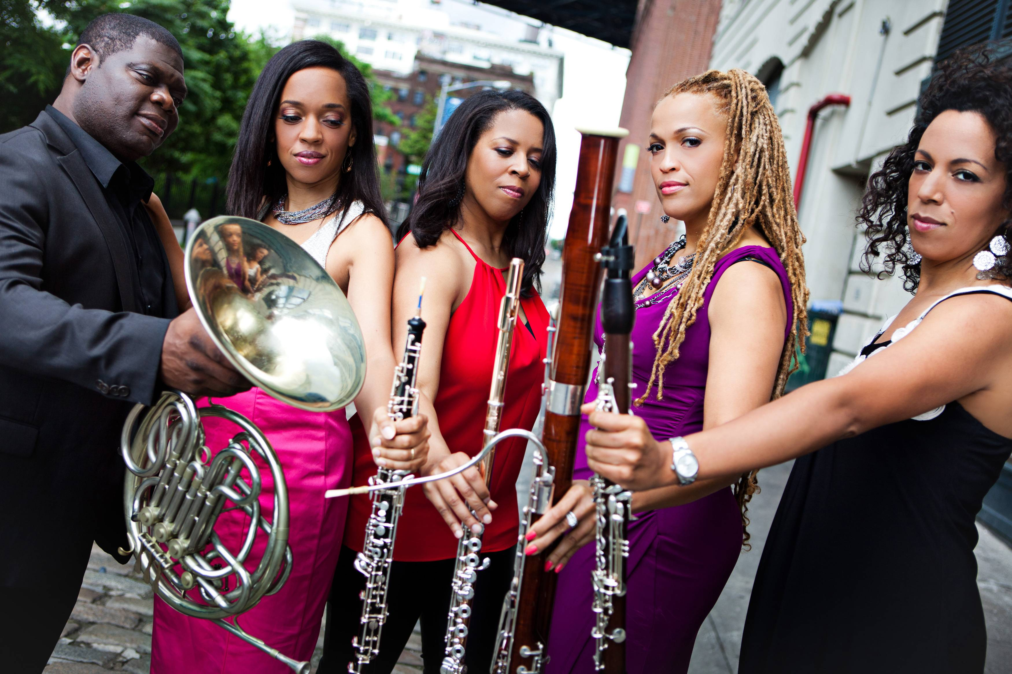 Imani Winds will perform at CLC on Feb. 14.
