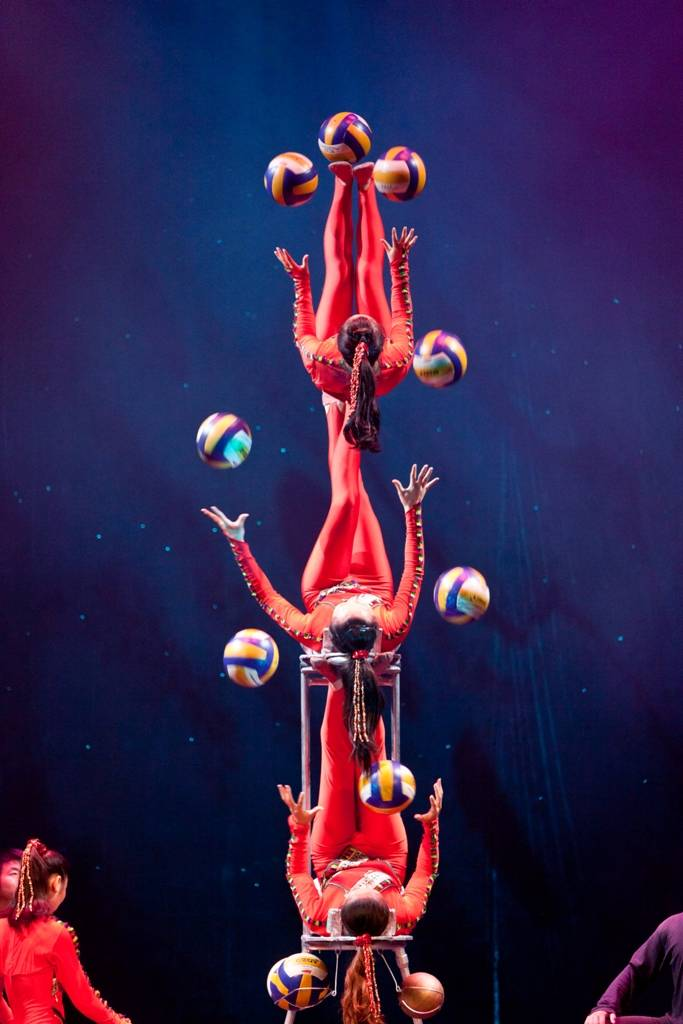 "The amazing acrobats of ""Cirque Ziva"" come to CLC on Friday, Feb. 22."