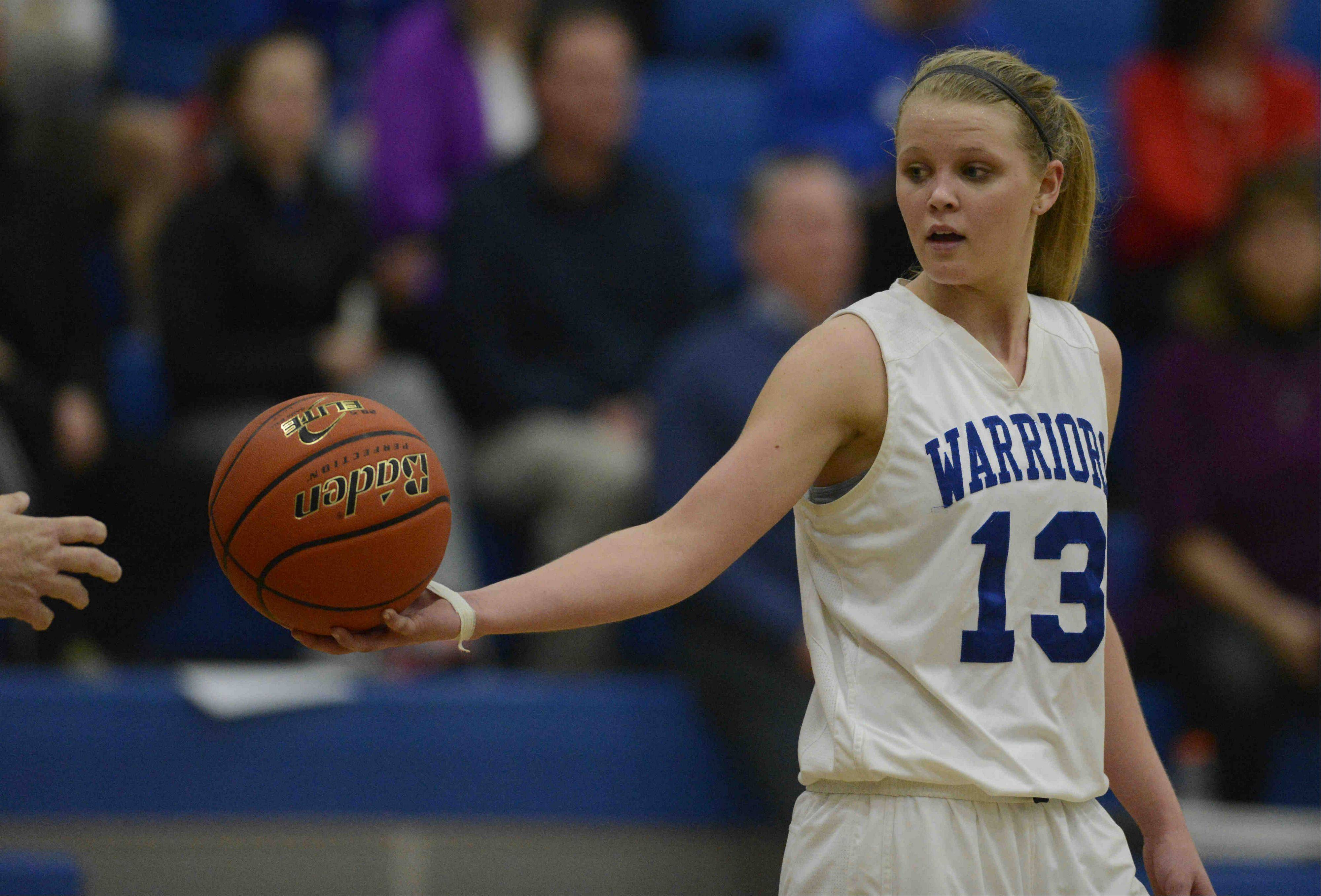 Junior McKaila Hays is one of the top players this season for Westminster Christian. The Warriors, who reached a sectional final last year, are the No. 1 seed in next week�s Class 1A Harvest Christian regional.