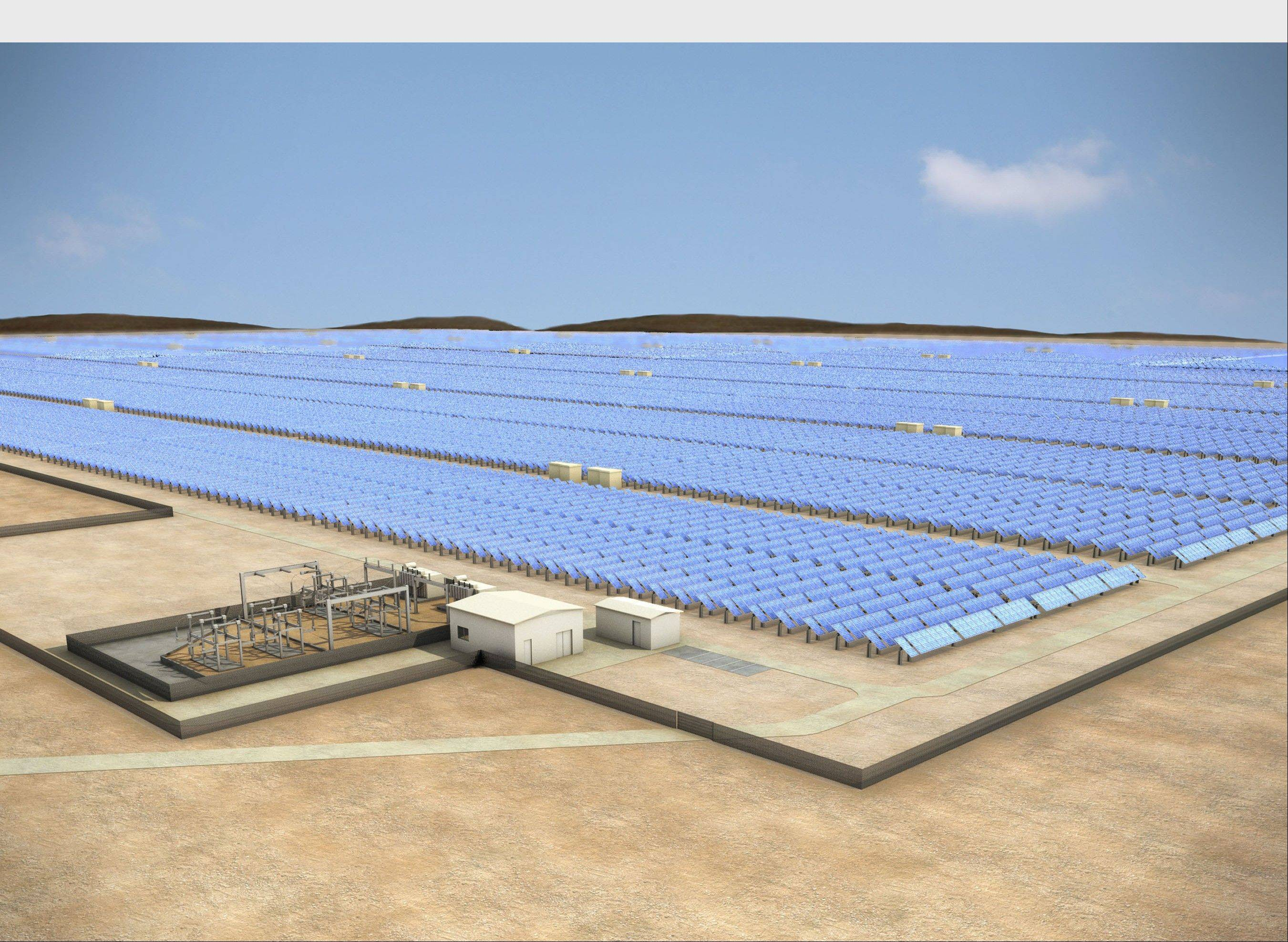 A 100 megawatt solar facility to be built in Chile by SunEdison for CAP Mining.