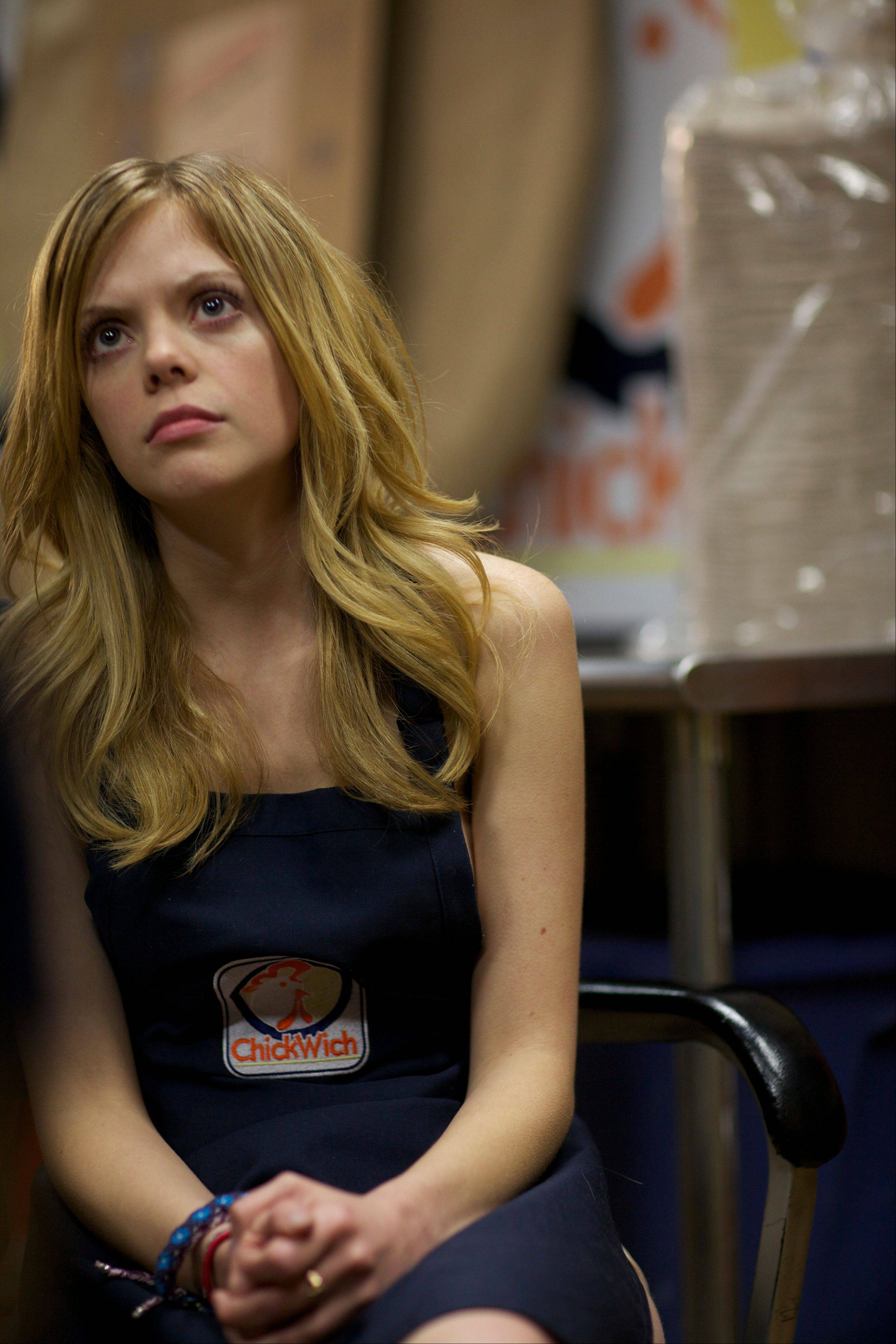 "Dreama Walker stars in ""Compliance."""