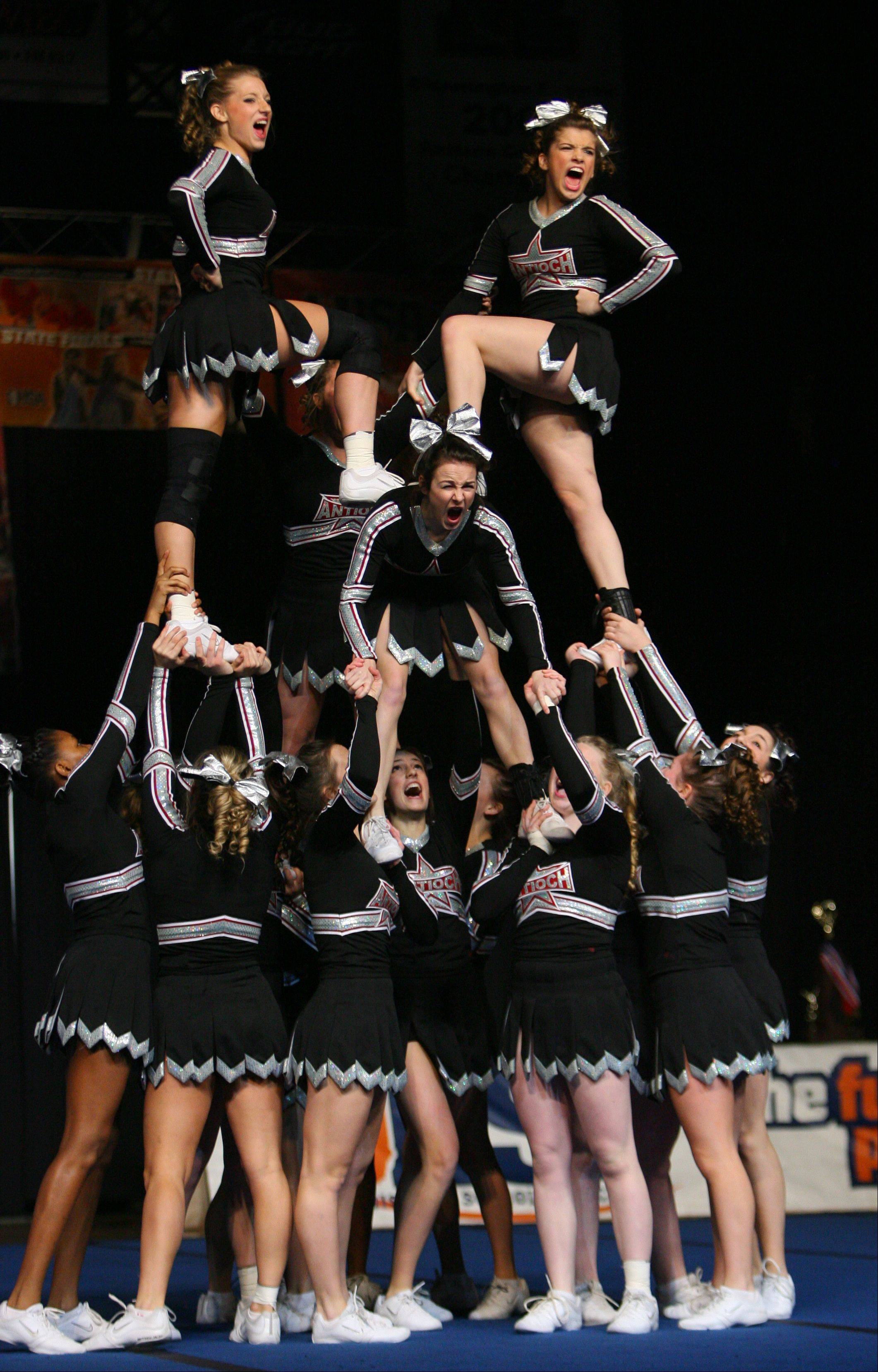 a experience from competition of cheerleader Tens of thousands of cheerleaders may have been exposed to mumps at a national competition in or any other individuals linked to this event experience or have.