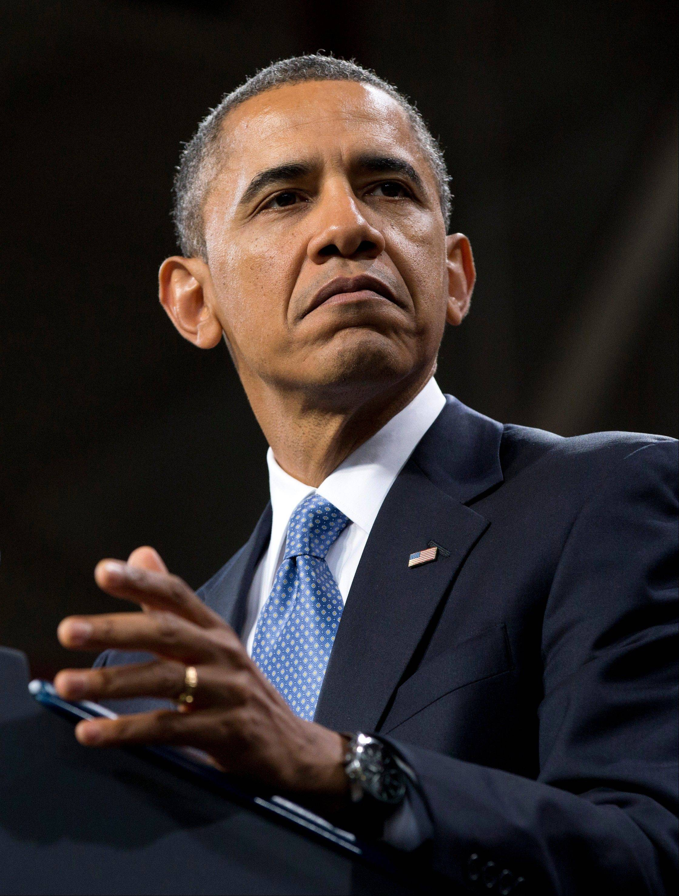 President Barack Obama said Sunday that gays should be allowed in the Boy Scouts and women should be allowed in military combat roles, weighing in on two storied American institutions facing proposals to end long-held exclusions.