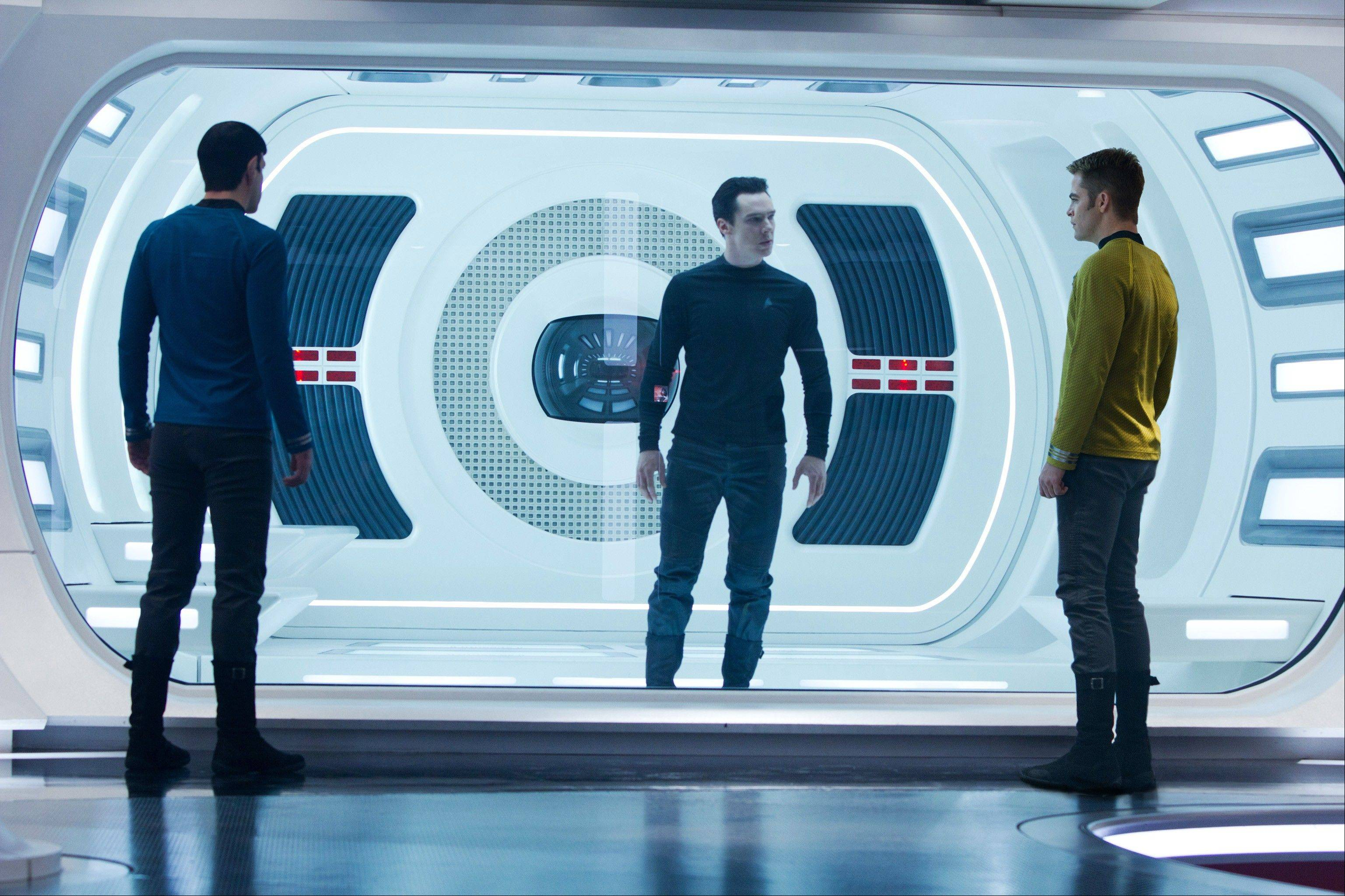 "Super Bowl XLVII featured a preview ad for ""Star Trek Into Darkness."""