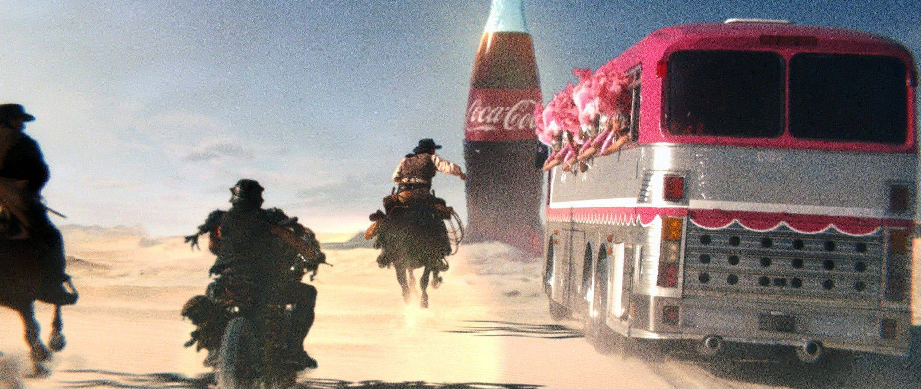 You didn't have to be a football player to be a part of the action on Super Bowl Sunday. In its Super Bowl ad, Coca-Cola asked people to vote among three groups competing for a Coke in the desert.