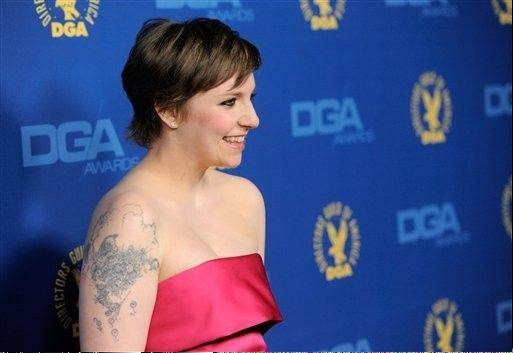 """Girls"" creator and star Lena Dunham is having a good awards season. Dunham, fresh off her Screen Actors Guild award, won for directing the pilot of her HBO show."
