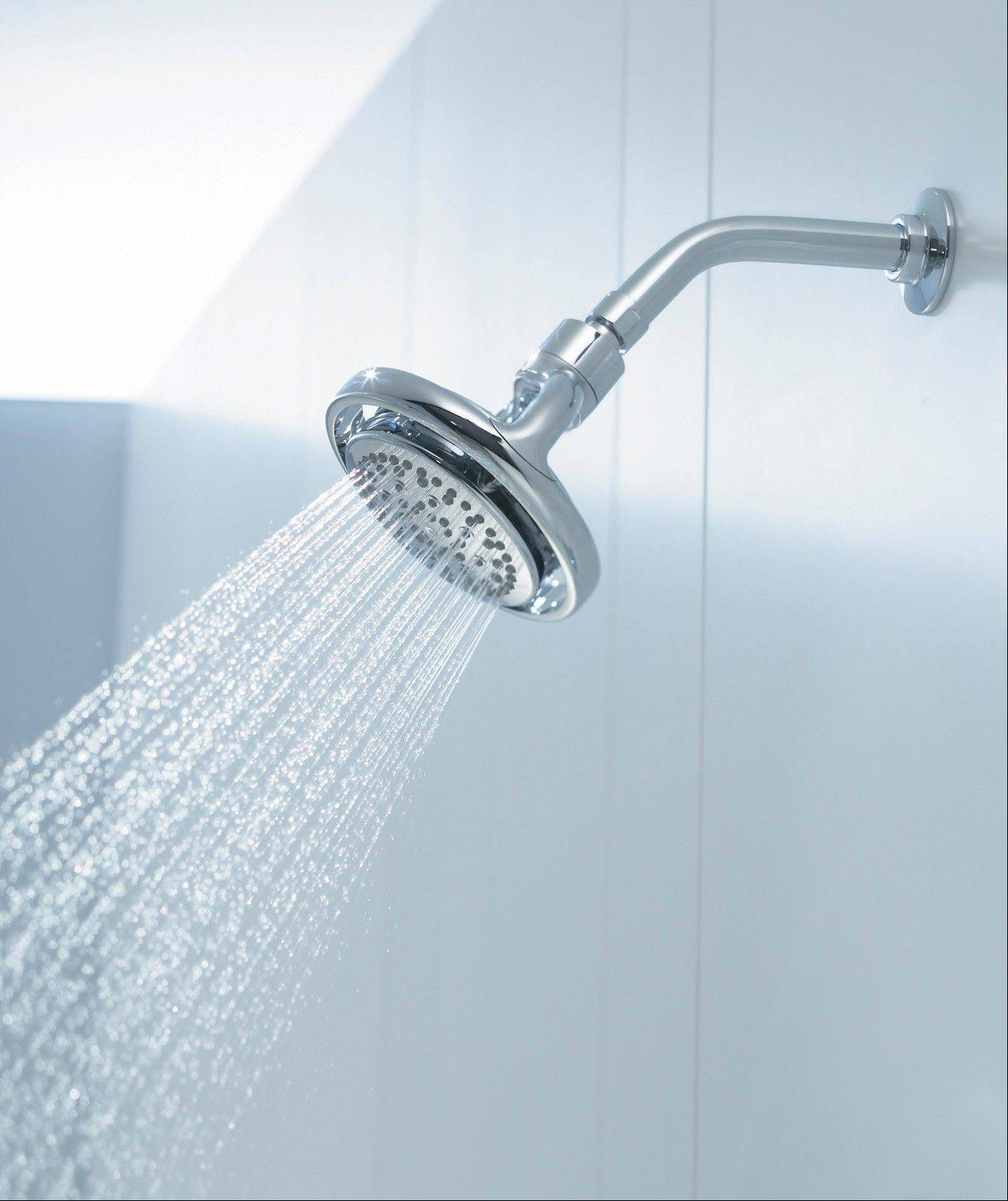 A new showerhead can change the entire look and feel of your tub and shower area.