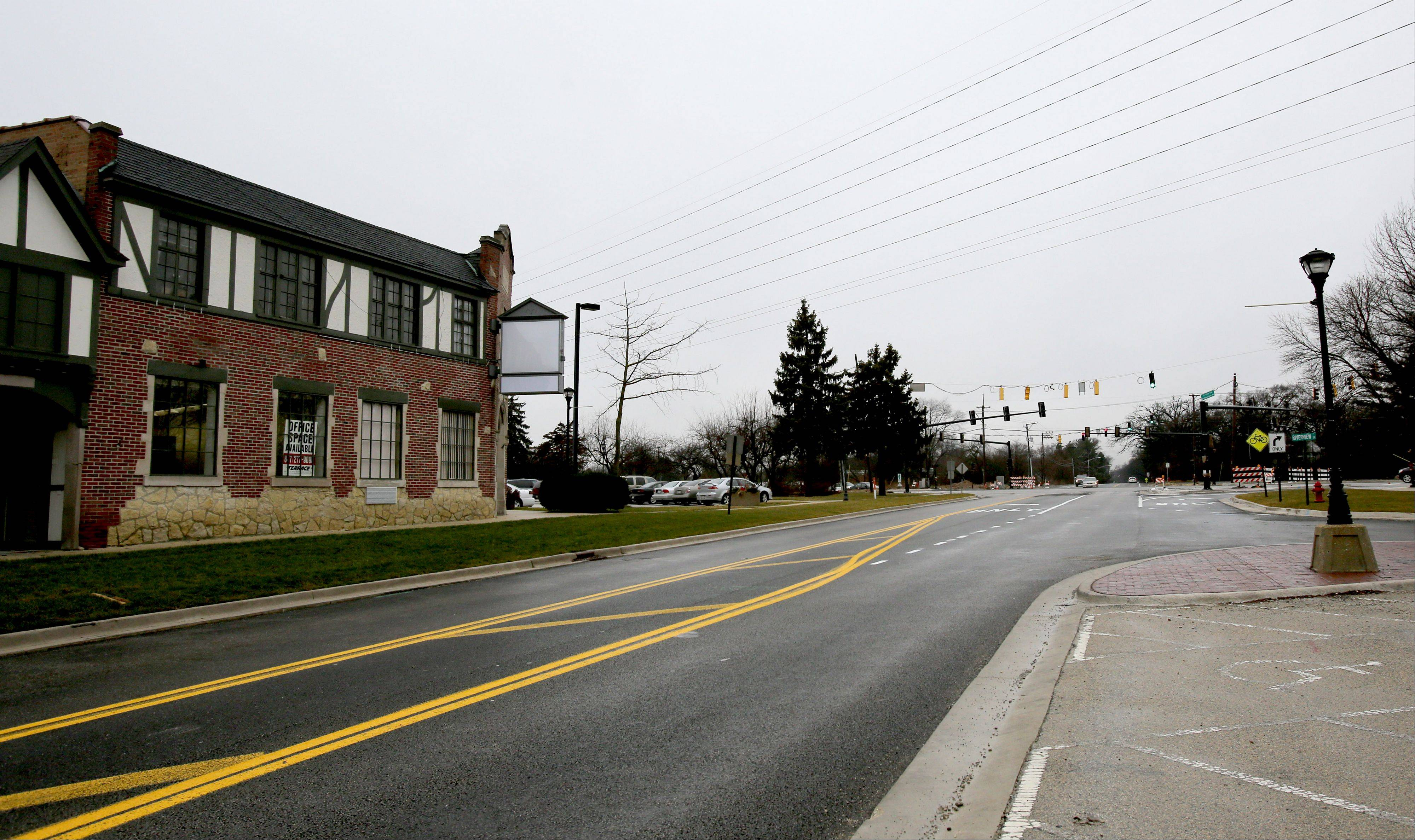 Warrenville is looking to create a tax increment financing district to facilitate redevelopment of two areas in the city, including the Civic Center near the intersection of Butterfield and Batavia roads.
