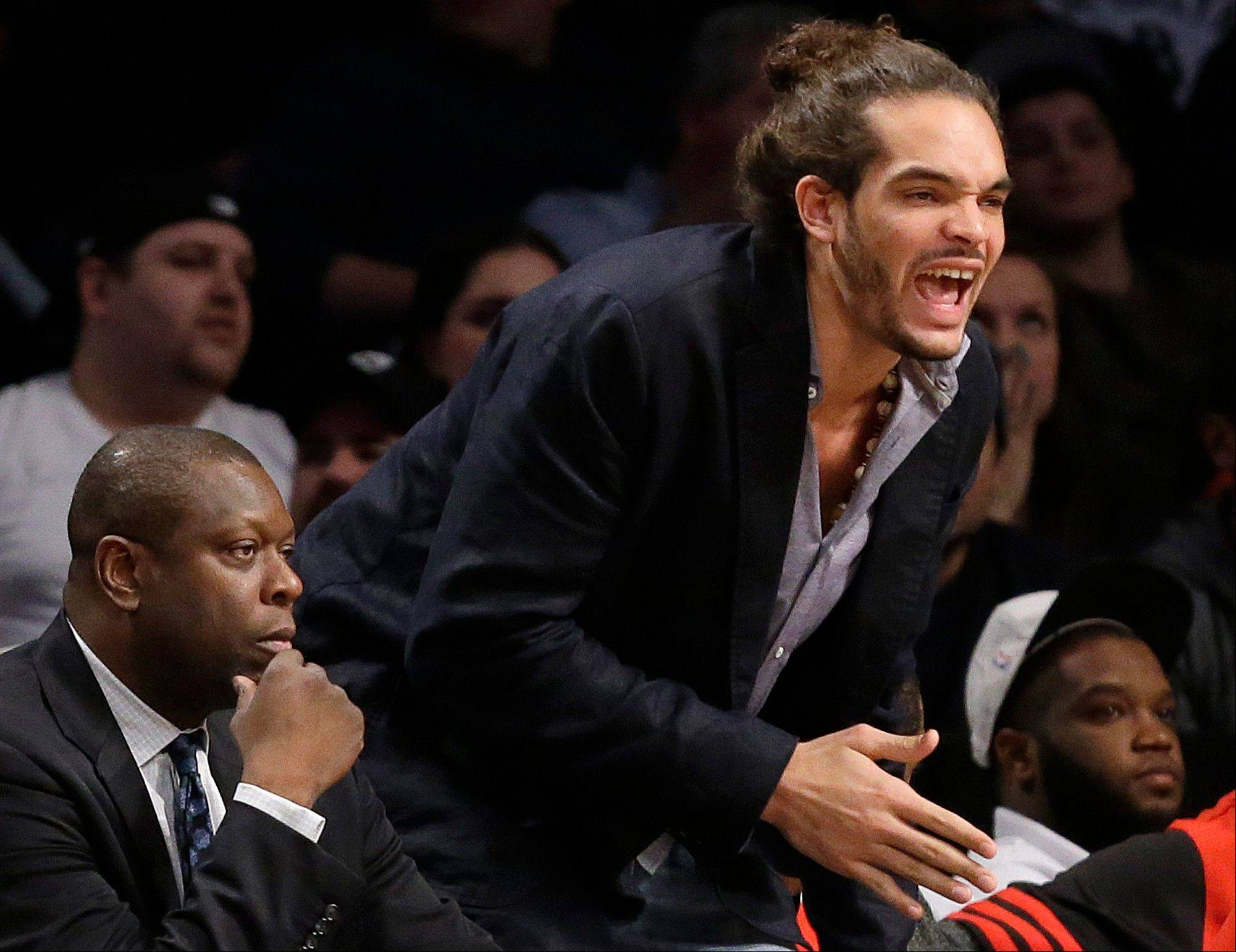 With center Joakim Noah sidelined with plantar fasciitis in his foot, Mike McGraw explores some options the Bulls might have to obtain a center.