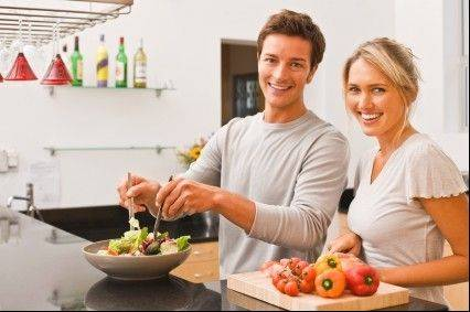 Having healthy ingredients in your kitchen will help you make healthy meals.