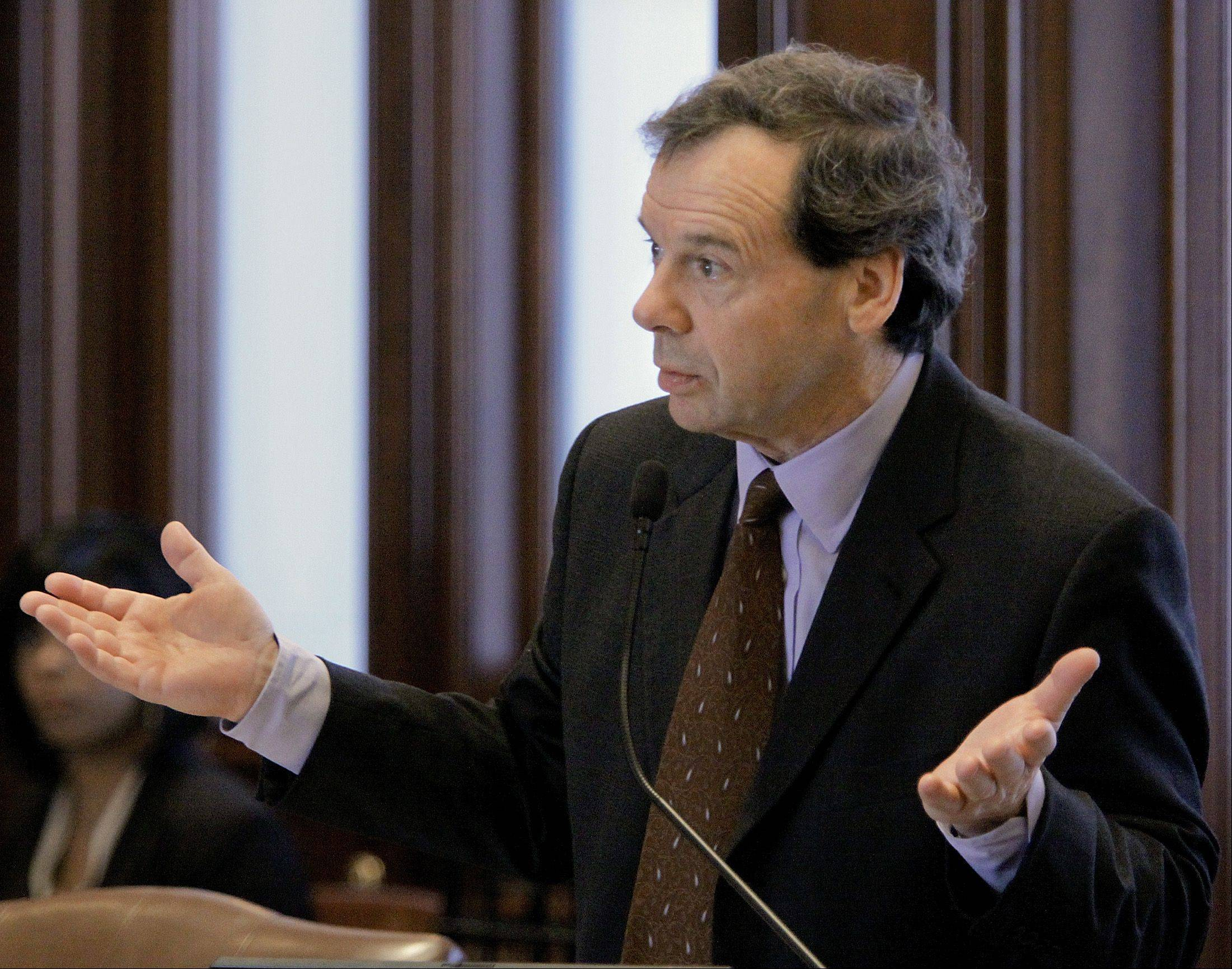 Illinois Senate President John Cullerton, a Chicago Democrat, is a central player in the debate on how best to save money on teachers' and state workers' pensions.