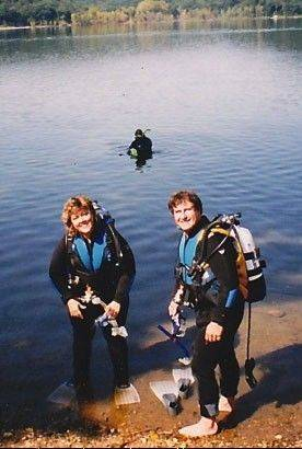 Not long after the Zinnis were married, they began taking scuba lessons and trips together.