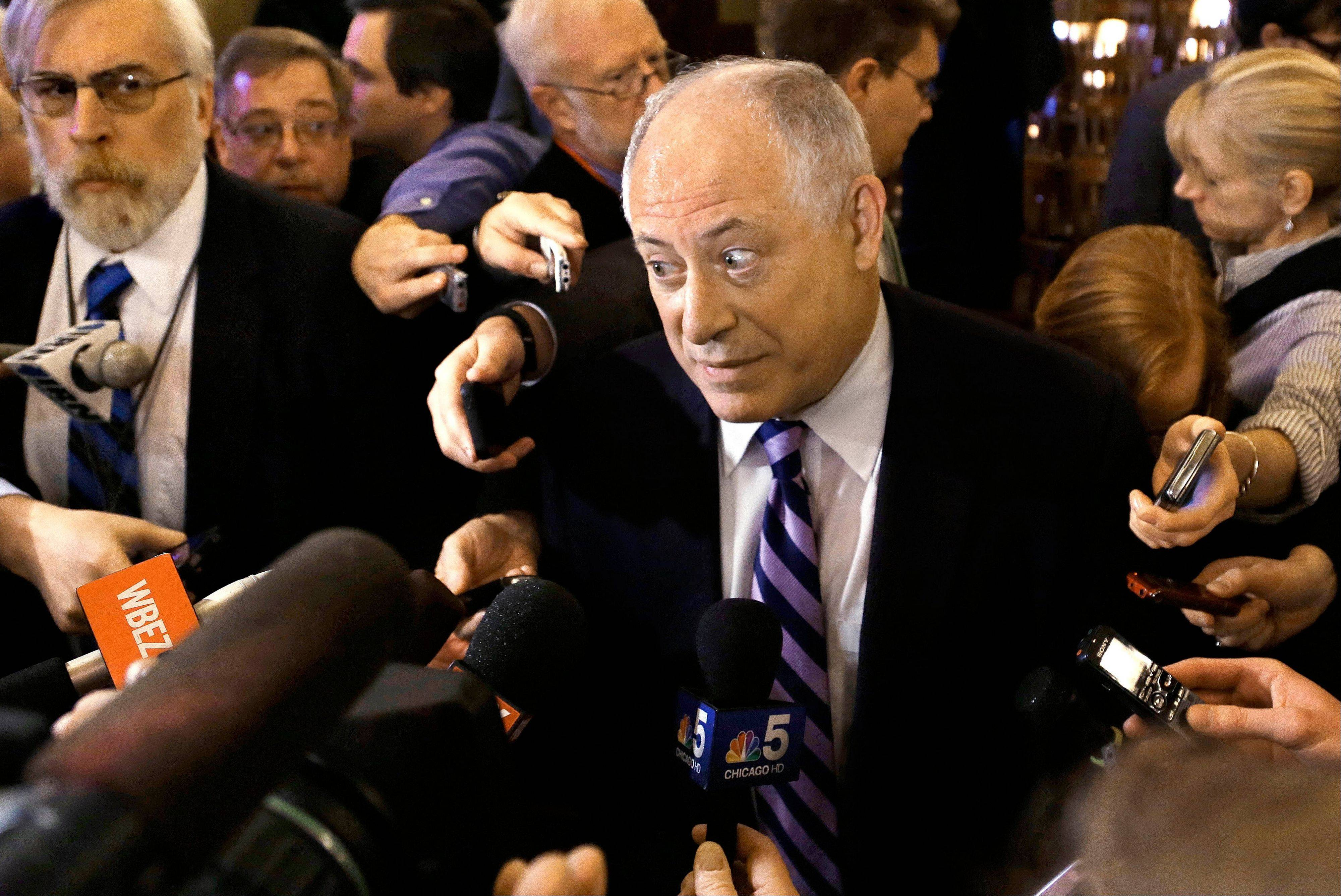 Gov. Pat Quinn is hinting his State of the State speech will remind the public how the state's image has been cleaned up under his watch.