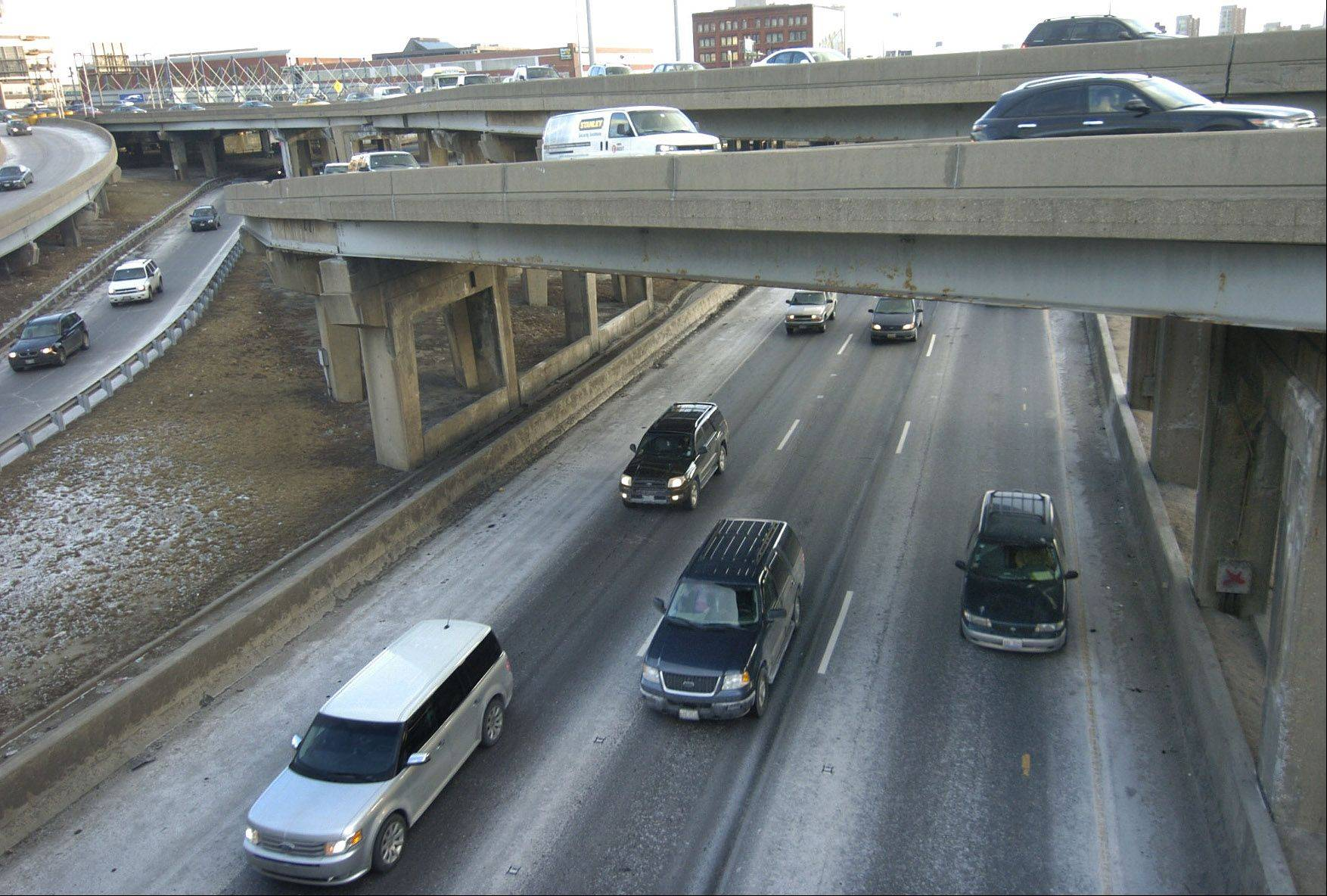 Daily Herald File Photo IDOT thinks it can fix what ails the Circle Interchange.