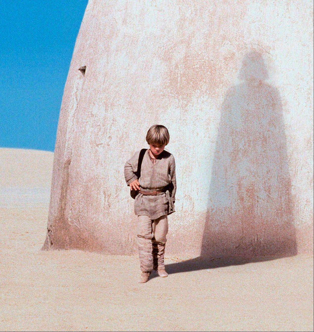 "In this publicity photo released by Lucasfilm Ltd., actor Jake Lloyd portrays Anakin Skywalker, a young Darth Vader, in ""Star Wars: Episode I, The Phantom Menace."""
