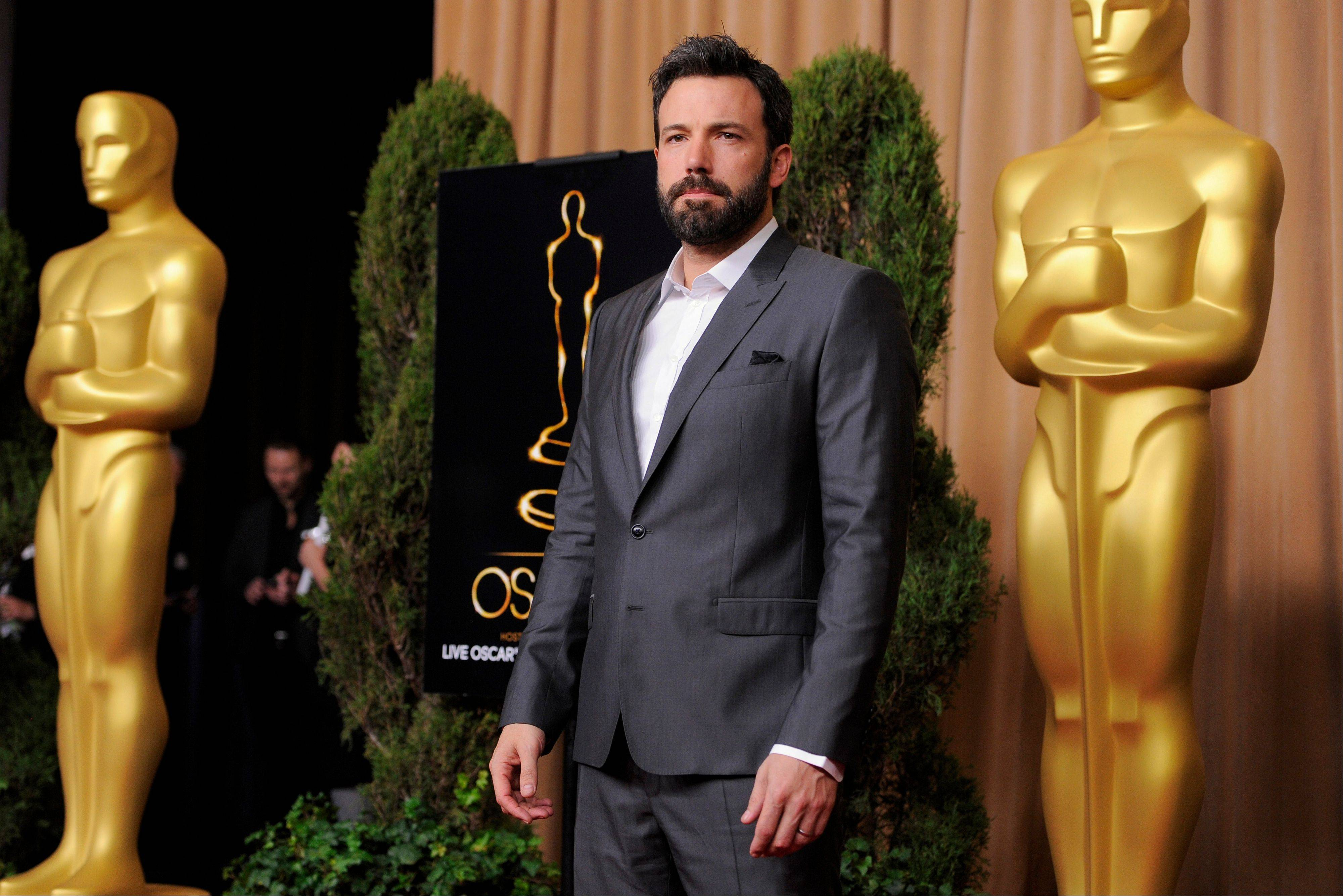 "Ben Affleck, nominated for best picture for ""Argo,"" attended the 85th Academy Awards Nominees Luncheon at the Beverly Hilton Hotel on Monday."
