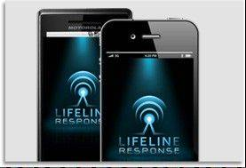 The developer of the LifeLine smartphone app is asking Barrington Unit District 220 officials to share information with parents and students about a smartphone app that would alert police and others when a child is threatened.