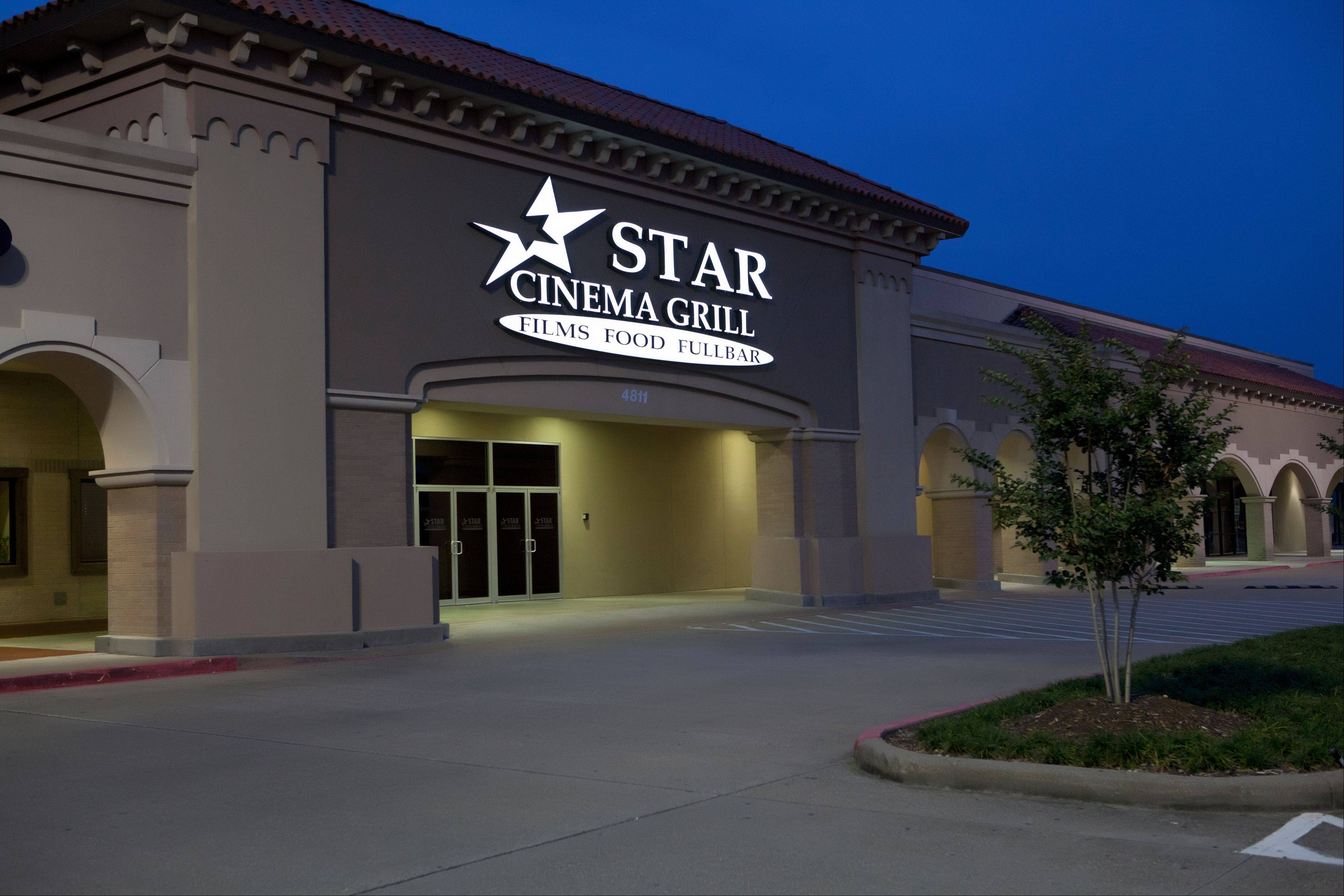 A new dine-in restaurant/theater similar to this Star Cinema Grill location in Texas will be opening in Arlington Heights later this year.