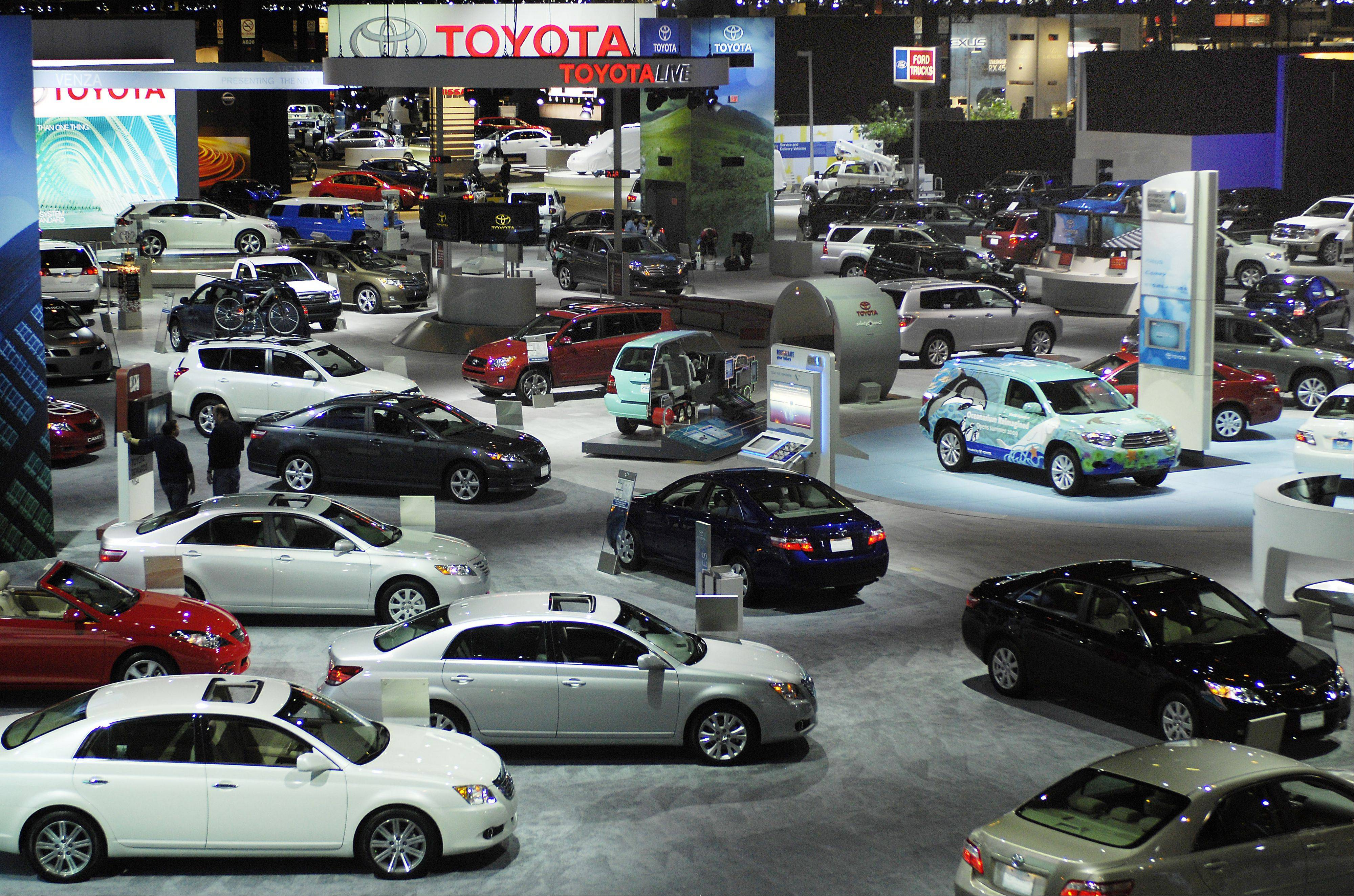 Daily Herald File PhotoThe Chicago Auto Show runs Saturday through Feb. 18 at McCormick Place.