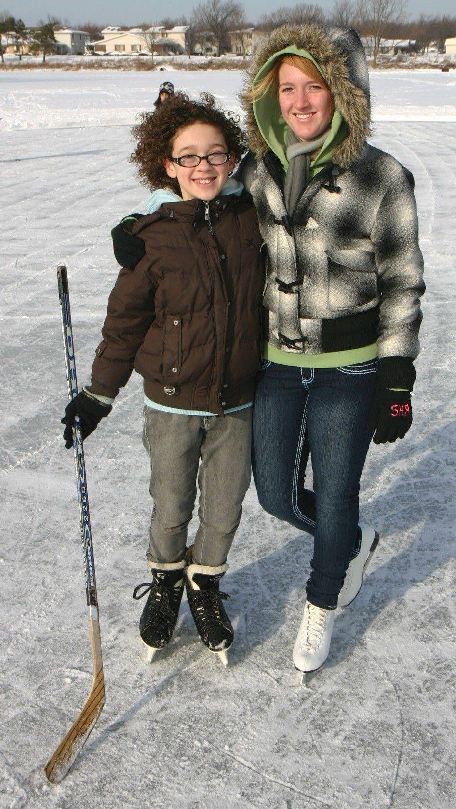 Schaumburg Park District's Timbercrest Park is now open for ice skating. Hit the rink for some outdoor fun and exercise.