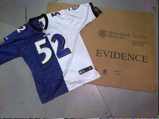 Federal customs officials say bogus Super Bowl jerseys are among $3.4 million in counterfeit goods that have been seized from shipping hubs at two Ohio airports.