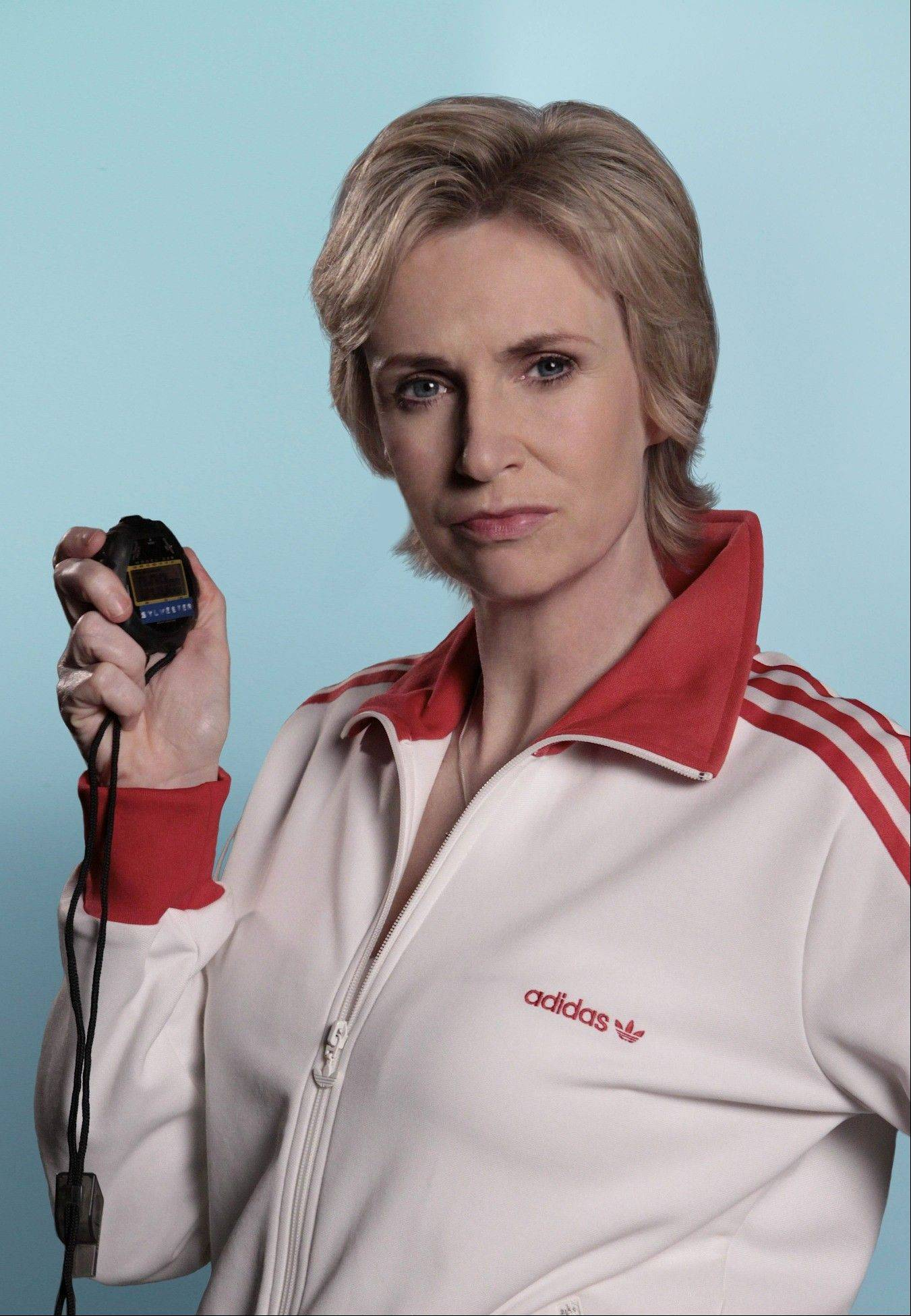 "Chicago-area native Jane Lynch plays McKinley High's stern cheerleading instructor on ""Glee."""