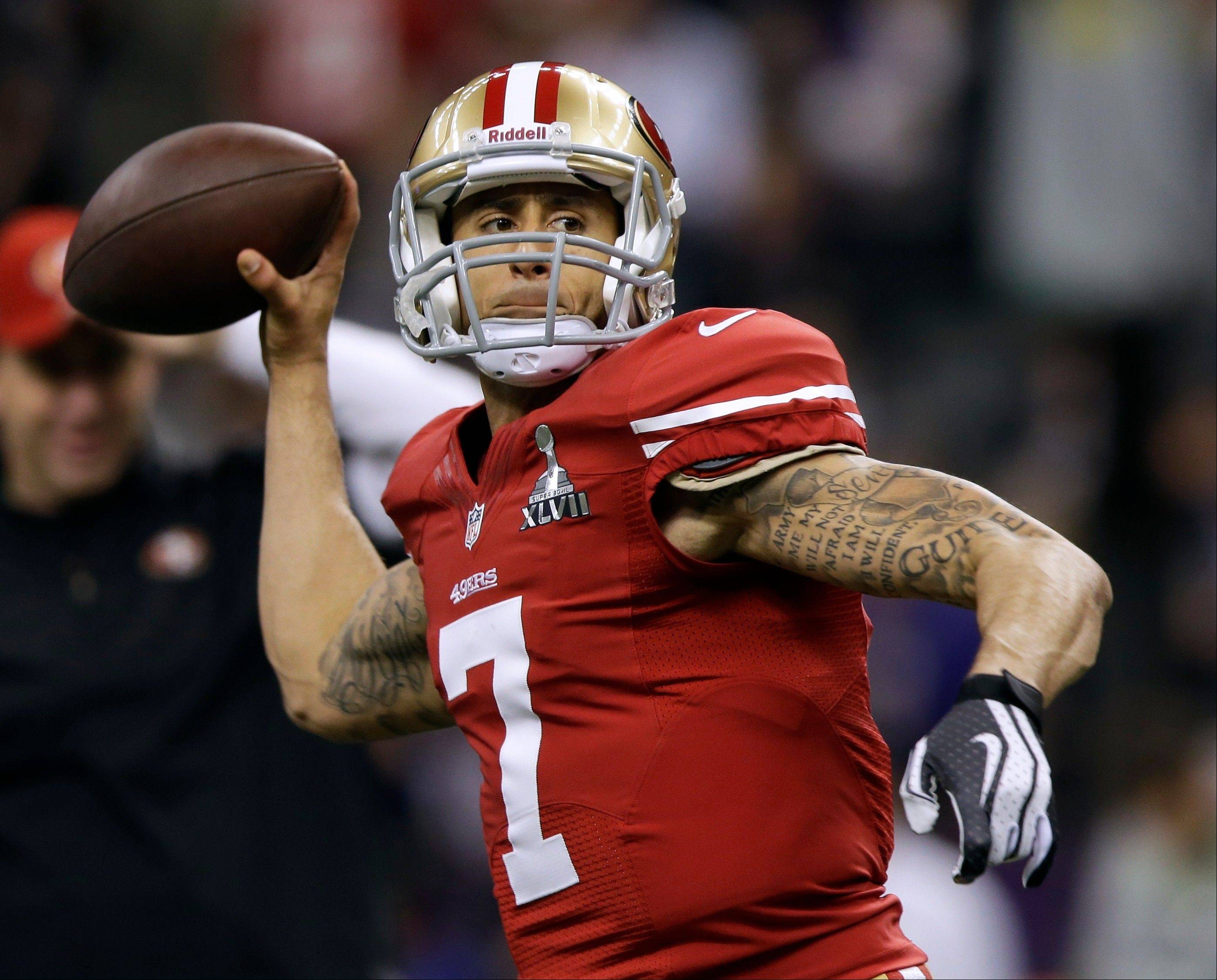 San Francisco 49ers quarterback Colin Kaepernick hasn't started a full NFL season, yet he took his team to the Super Bowl.