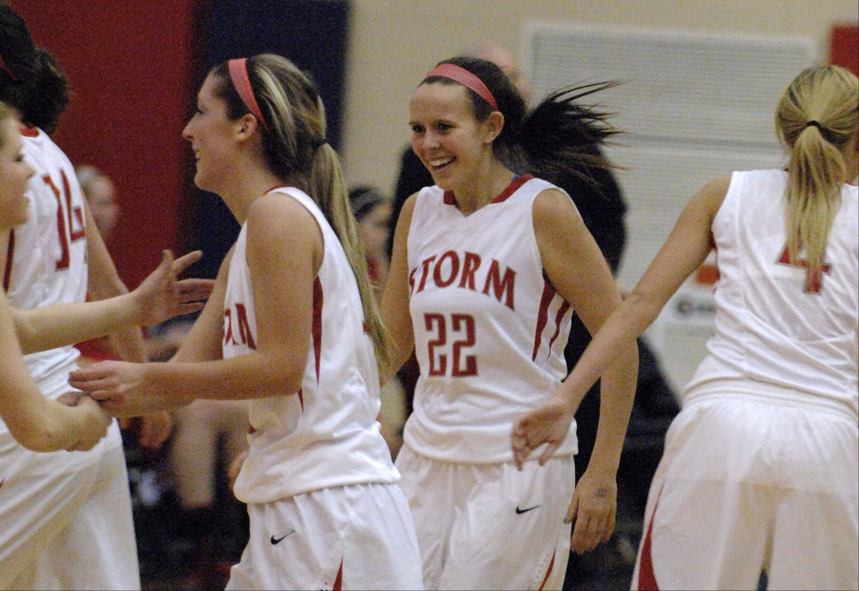 Images from the Batavia vs. South Elgin girls basketball game Thursday, February 7, 2013.