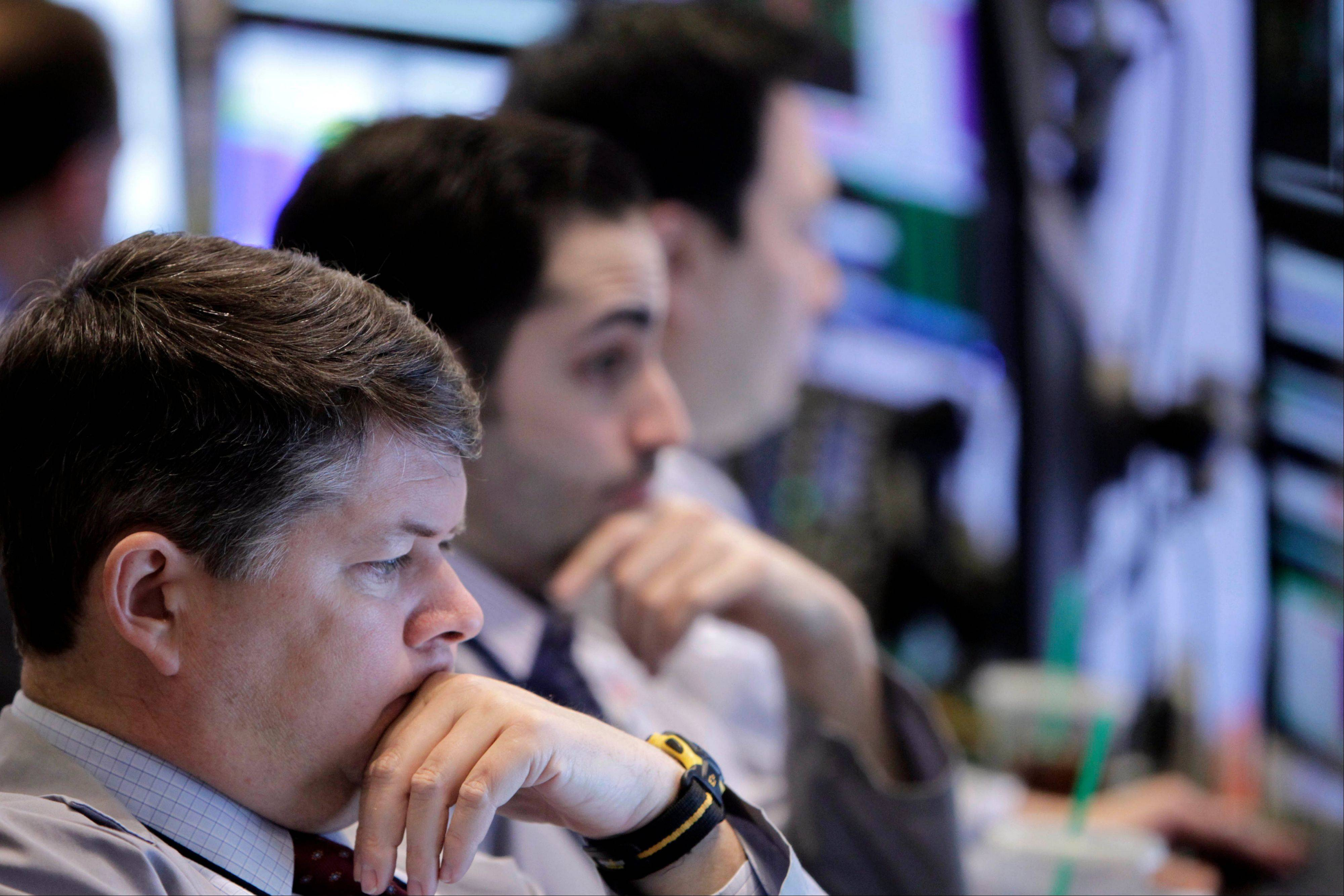 U.S. stocks fell, after a two-day advance in the Standard & Poor's 500 Index, as corporate earnings reports disappointed and European policy makers warned the euro's advance could hamper the region's recovery.