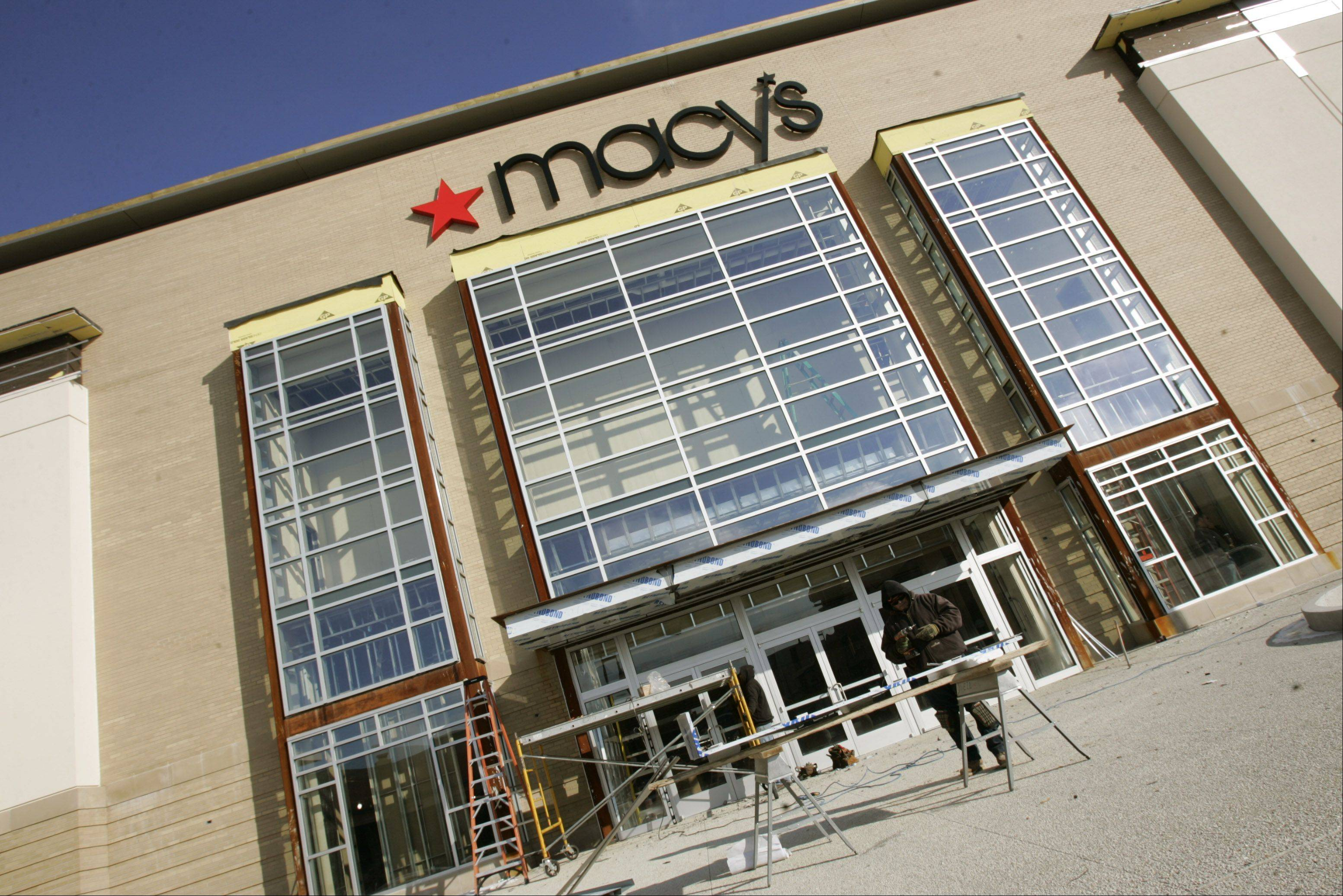 Macy's is raising its fourth-quarter adjusted earnings forecast due to its strong performance in January.