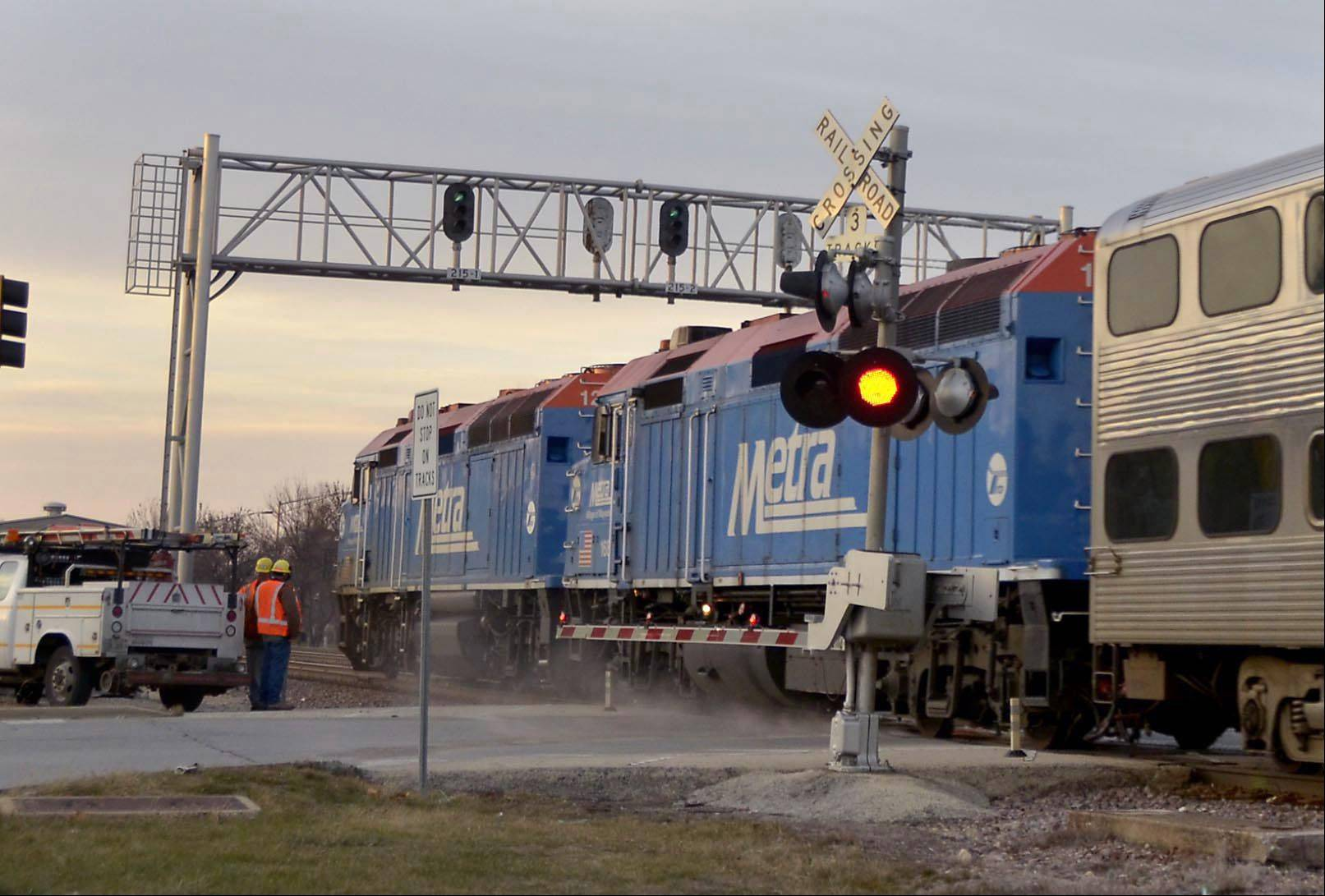 Bill Zars/bzars@dailyherald.com America's major freight railroads expect to hire 11,000 people and invest $13 billion in their rail networks and equipment this year.