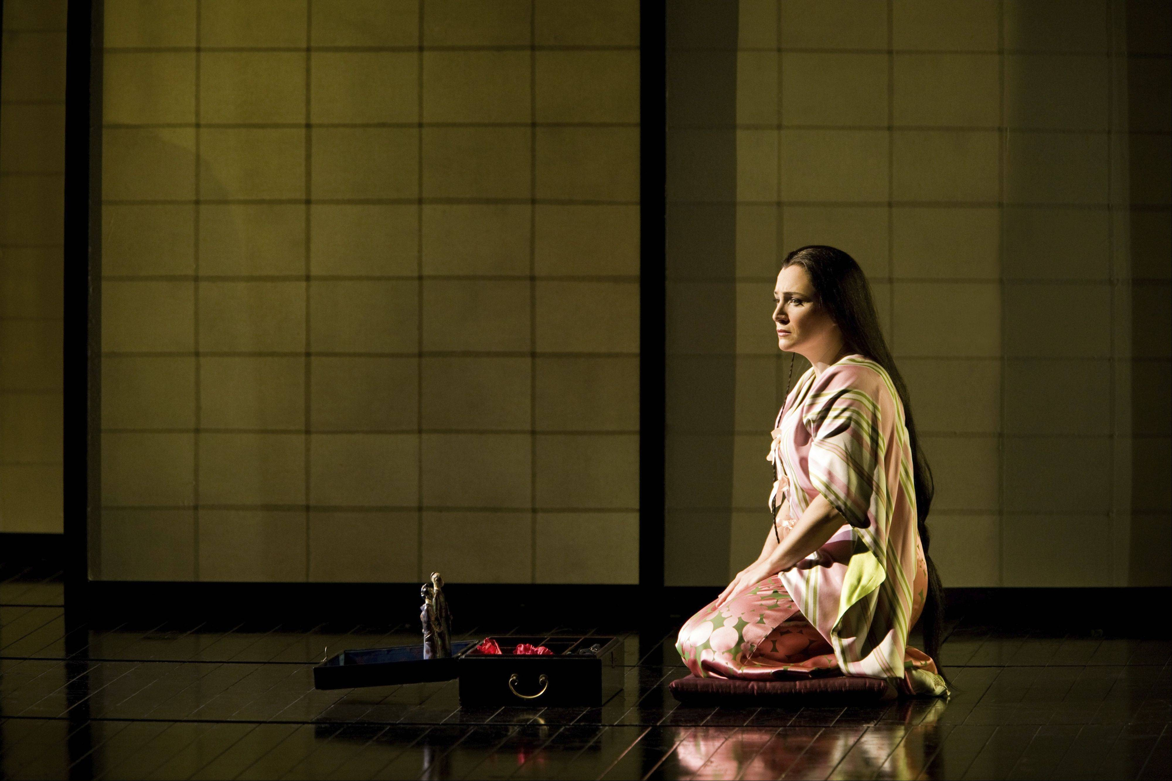 "Patricia Racette, pictured here at the Metropolitan Opera as Cio-Cio-San in ""Madama Butterfly,"" will reprise the role again for the Lyric Opera of Chicago during the 2013-14 season. It's a role she will share with Amanda Echalaz in a new-to-Chicago production by London and Broadway director Michael Grandage."