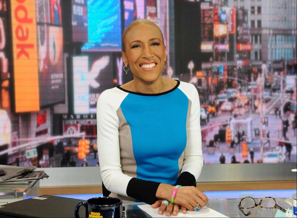 "Robin Roberts will be back on the job at the ""Good Morning America"" anchor desk on Feb. 20. Her return will be five months to the day since her bone marrow transplant to treat a rare blood disorder."