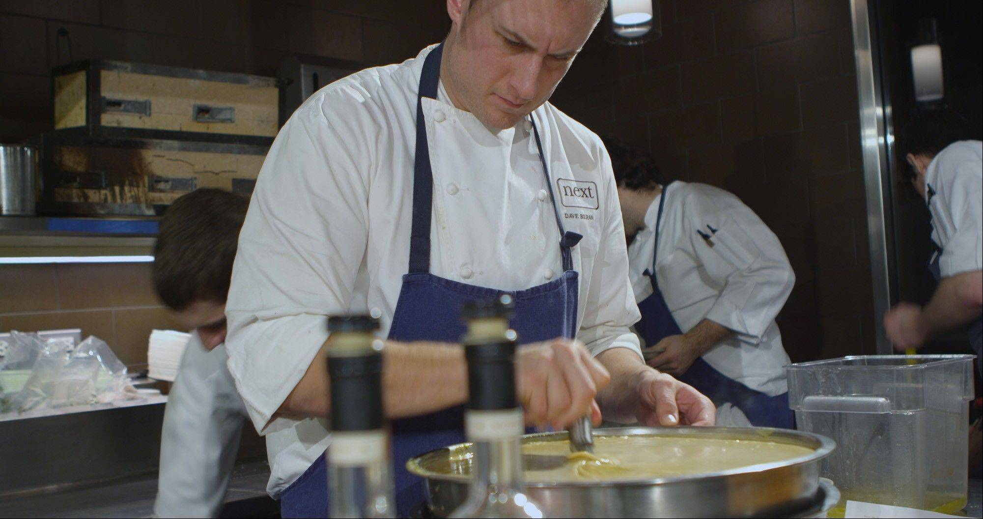 Dave Beran, Next's Hunt chef, helped conceive the game-focued menu.