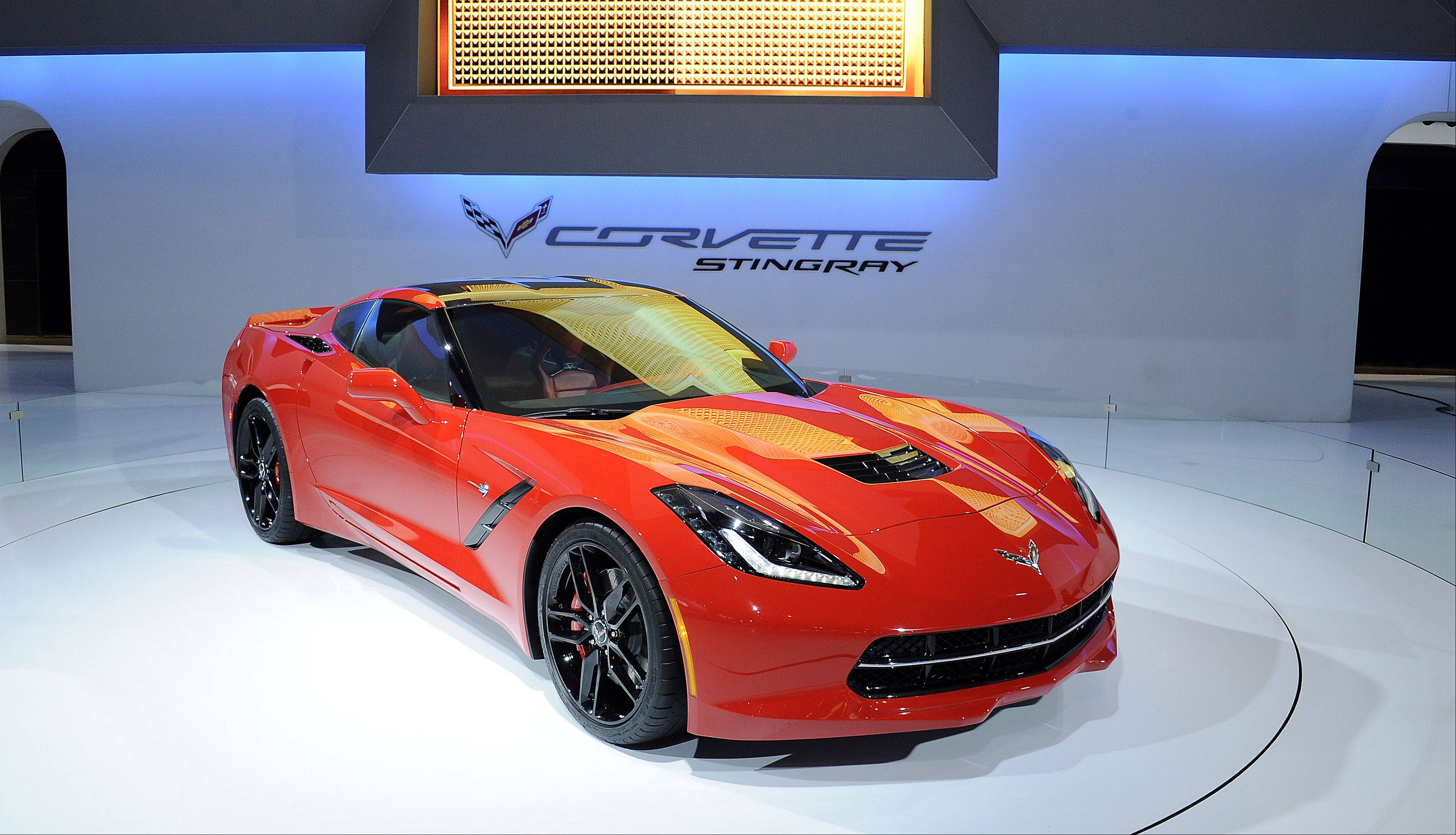 The Chevrolet 2014 Corvette Stingray.