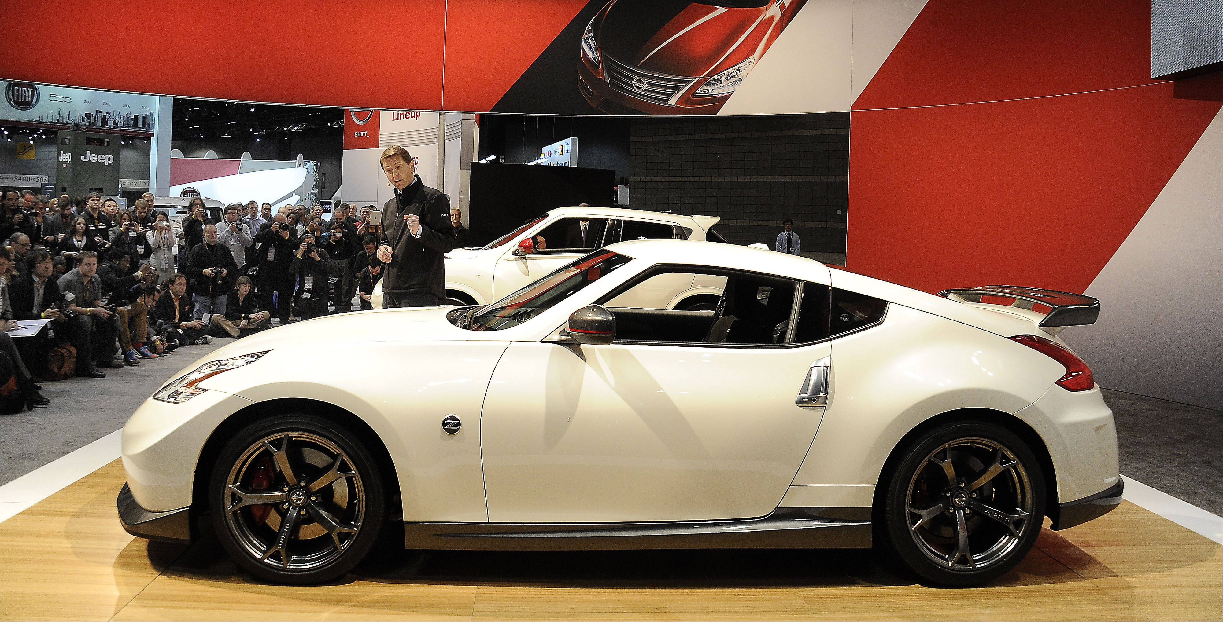 The Nissan 370Z, featuring 332 horsepower.