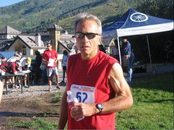 Robert Theodore at a running event.