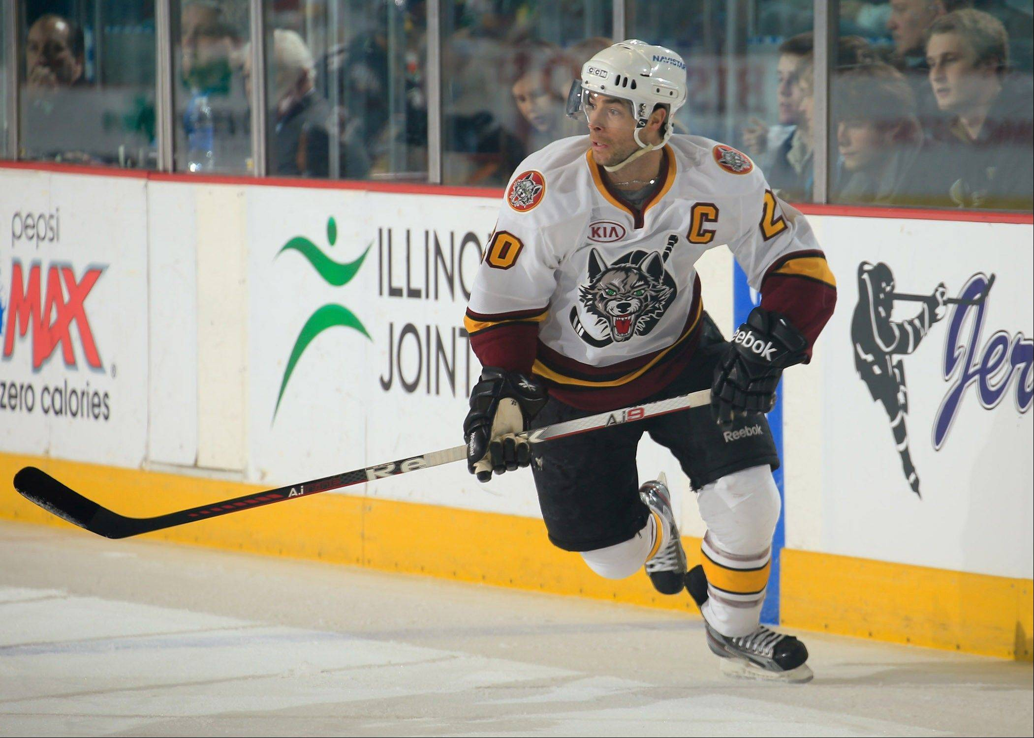 Wolves captain Darren Haydar is moving up the alltime scoring lists in the AHL and Chicago.