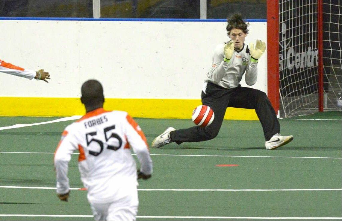 The Chicago Soul returns to action Friday night at the Sears Centre with a Major Indoor Soccer League game against Rochester. The Soul, with veteran goalkeeper Jeff Richey, above, is bidding for a playoff spot in its inaugural season.
