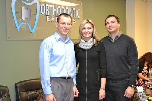Arlington Heights orthodontist Dr. Yarmolyuk with local dentists.