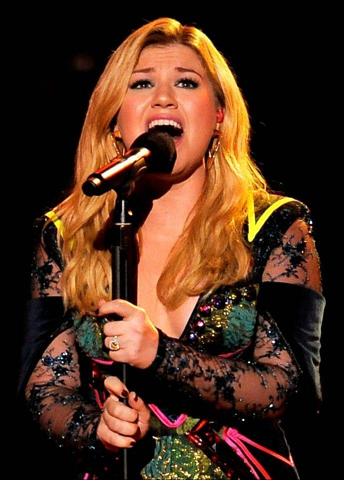 "Kelly Clarkson's No. 1 hit, ""Stronger (What Doesn't Kill You),"" is nominated for record of the year at the Grammy Awards. The song is also up for song of the year and best pop solo performance."