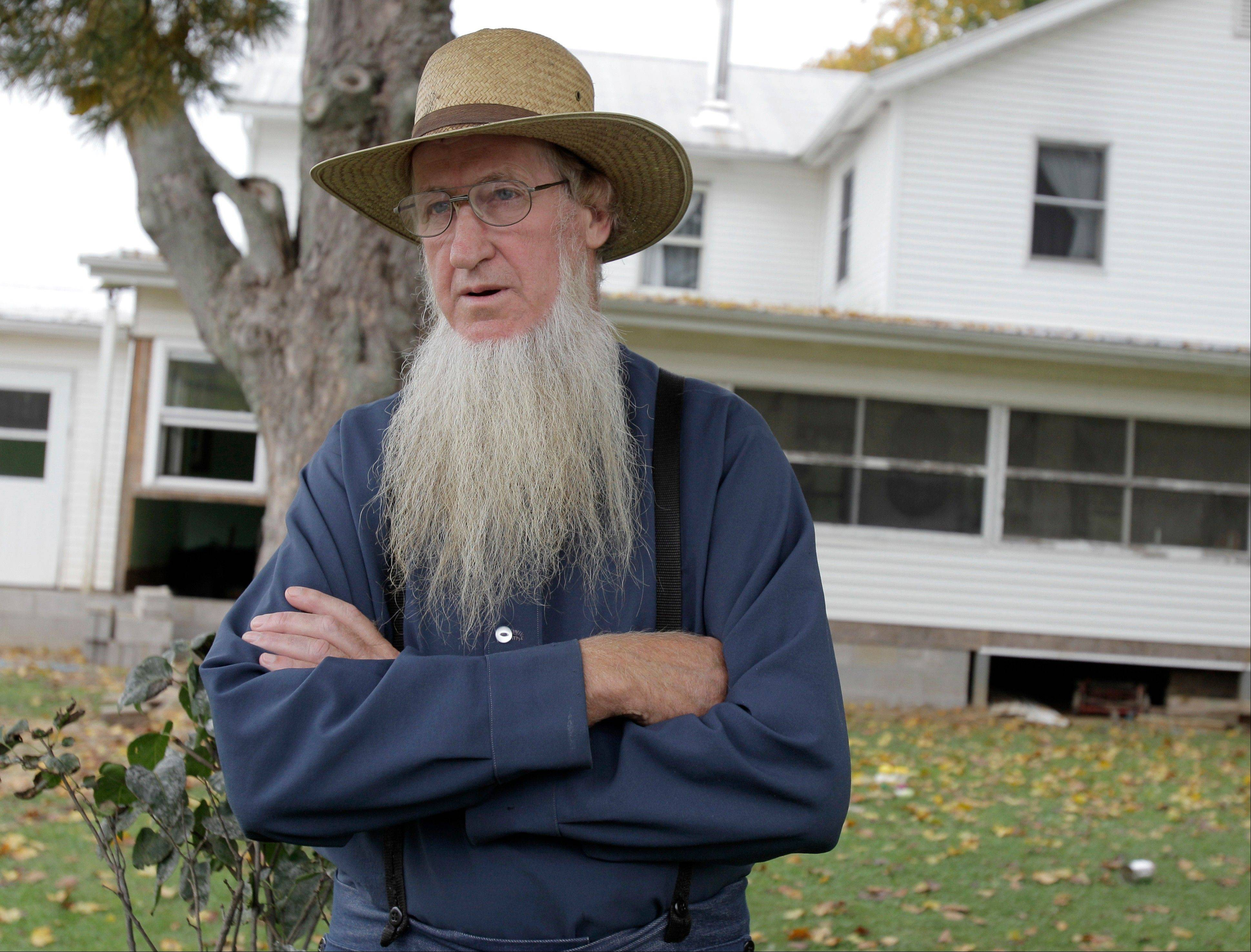 Sam Mullet, the leader of 16 Amish convicted in beard-cutting attacks on other members of their faith in Ohio, says he has been blamed for running a cult and is ready to take the punishment.