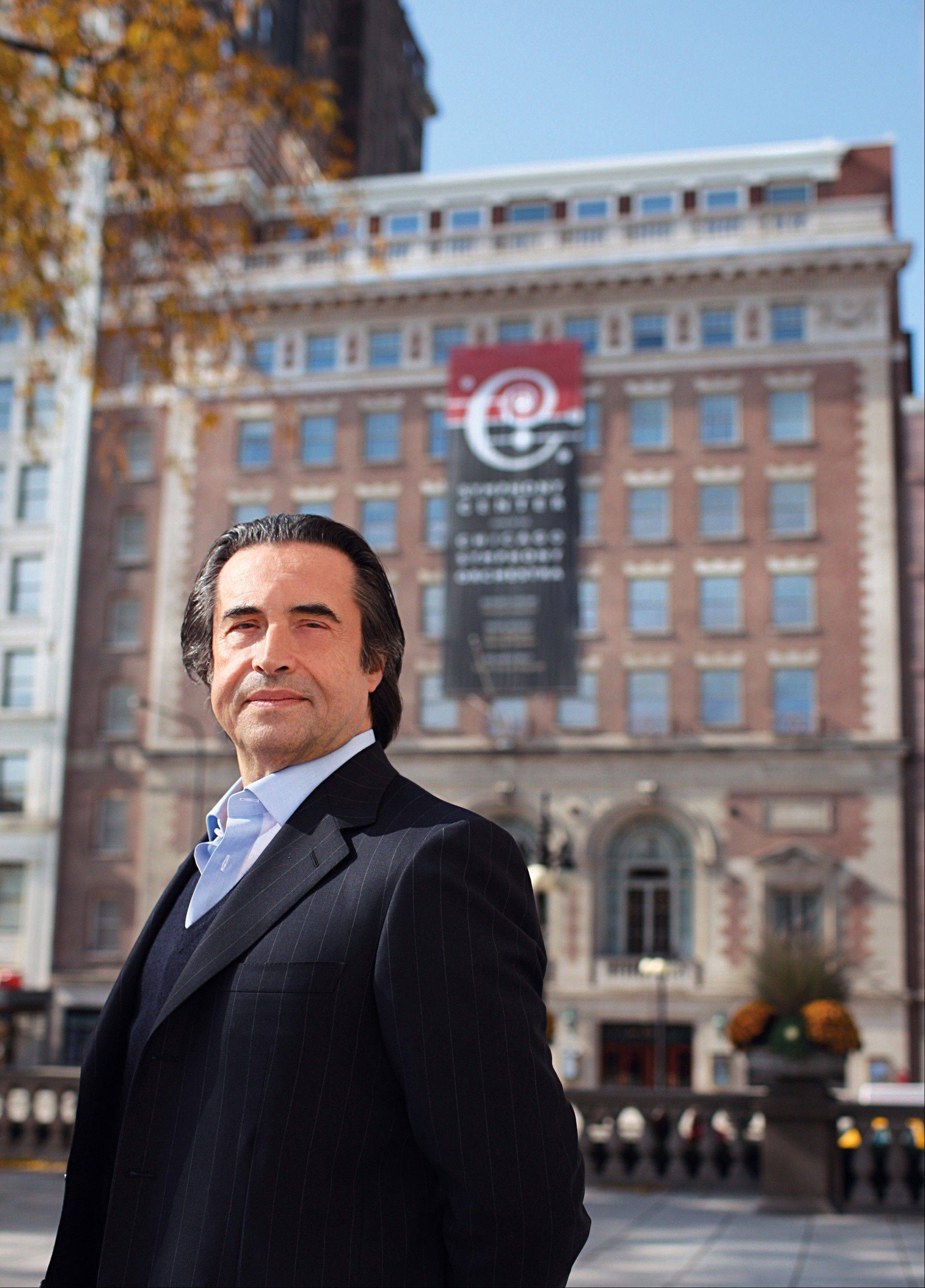 Conductor Riccardo Muti plans 10 weeks of performances with the Chicago Symphony Orchestra next season.