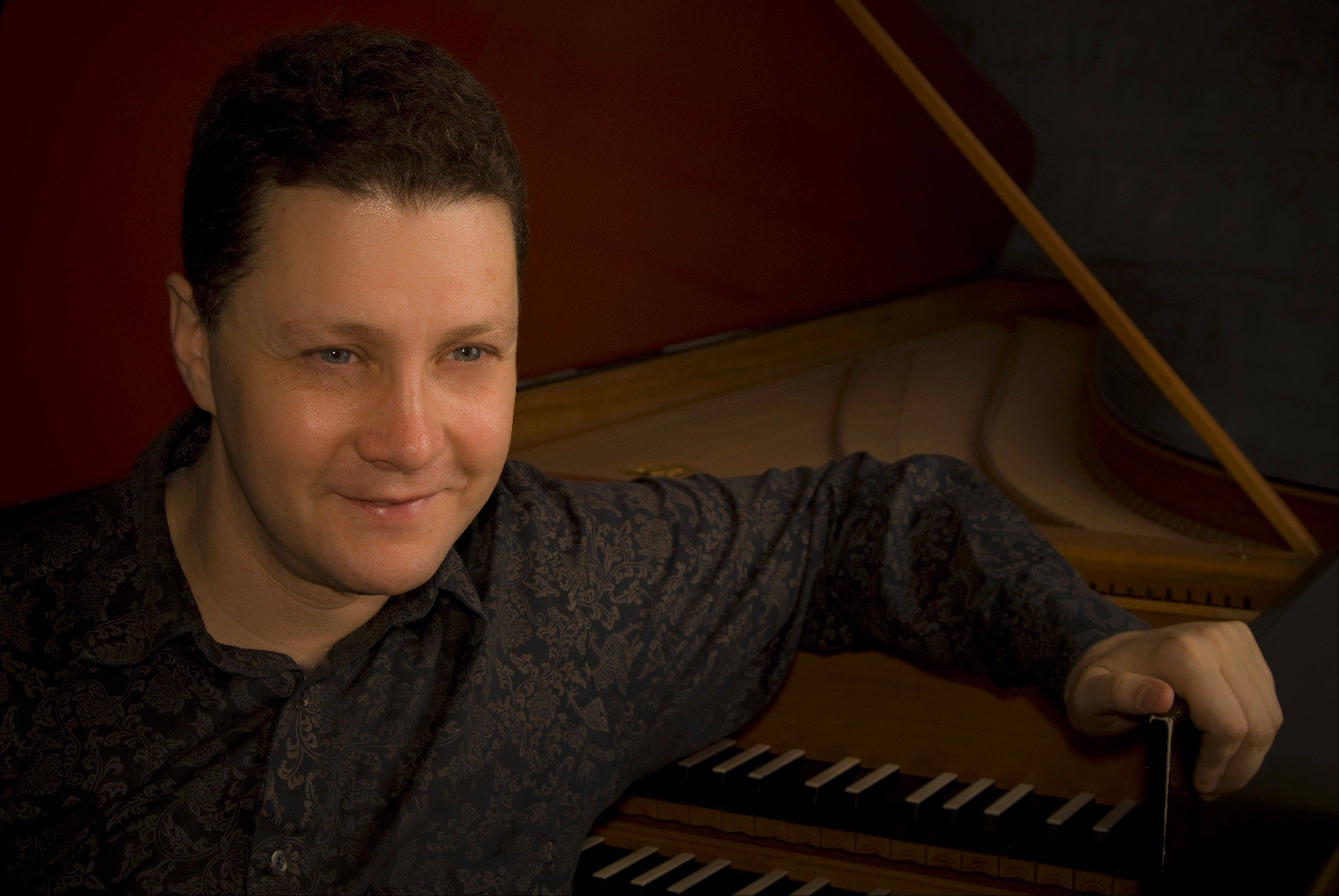 Harpsichordist Jory Vinikour, of Mount Prospect, is nominated for a Grammy Award for Best Instrumental Classical Solo.