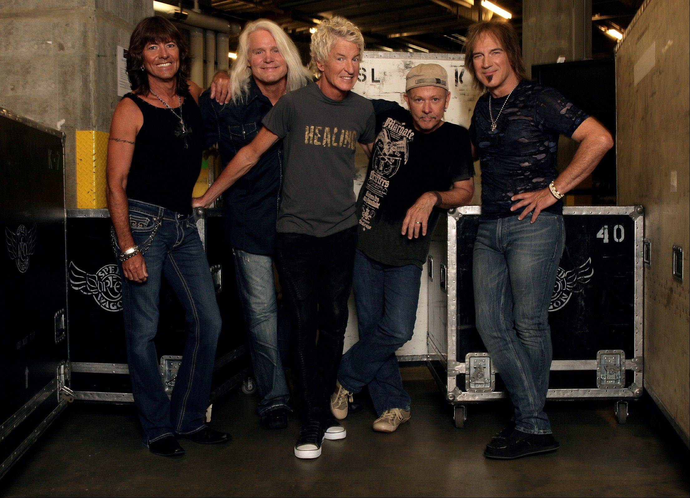 REO Speedwagon will play the Illinois State Fair on Aug. 10.