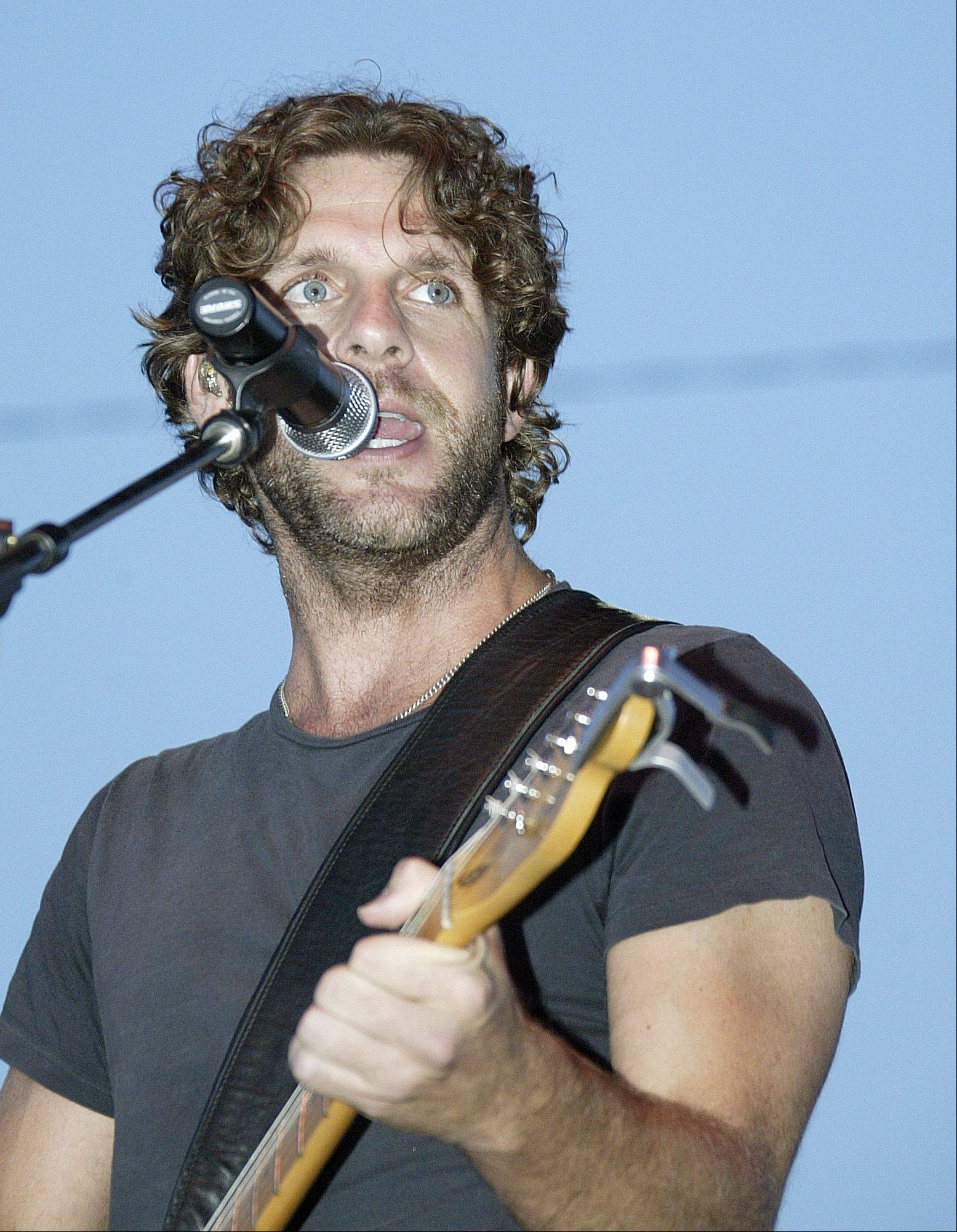 Country singer-songwriter Billy Currington is among the acts booked for the Illinois State Fair this August. His performance will be Aug. 9.