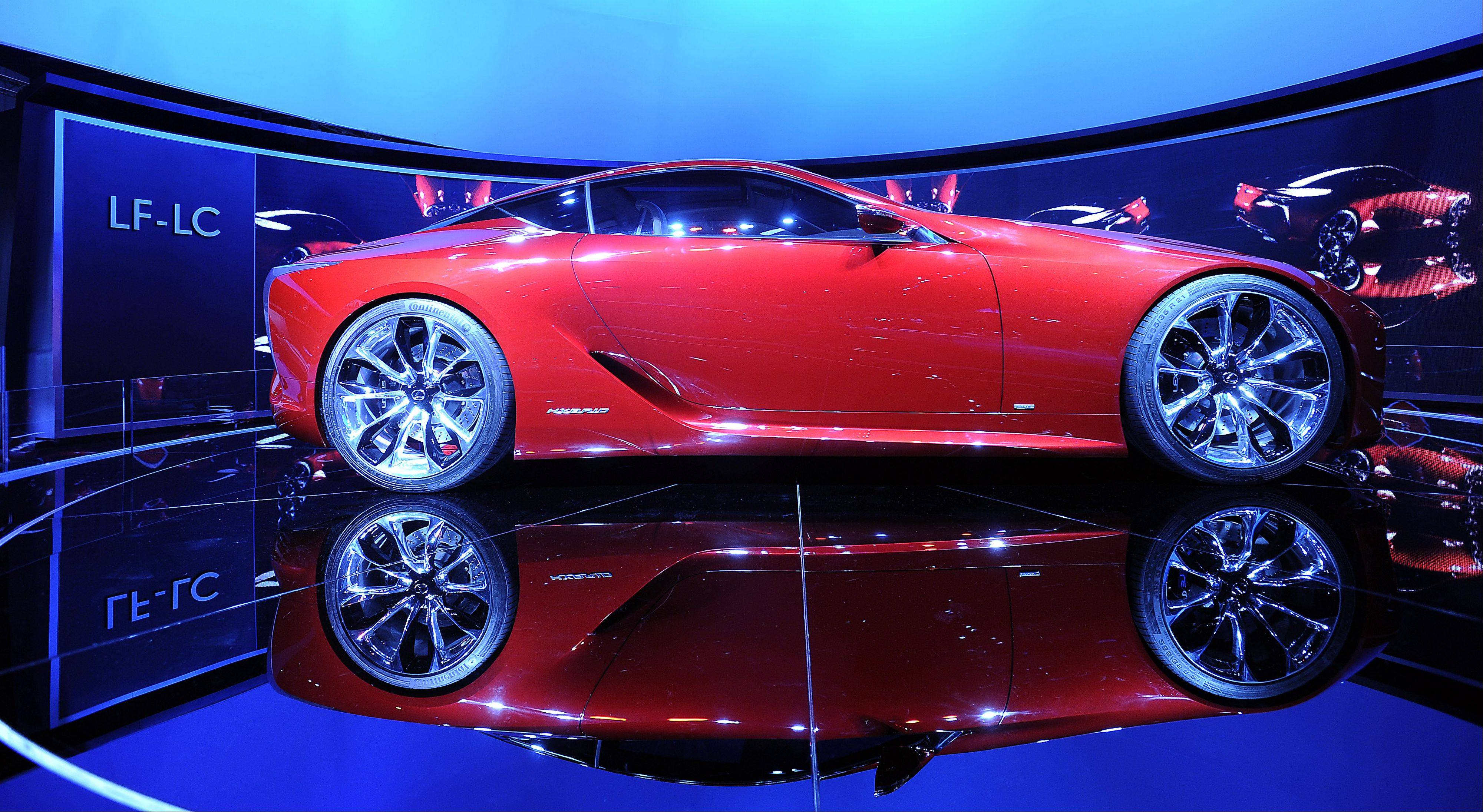 A Lexus hybrid concept car was featured at last year's Chicago Auto Show, which returns to McCormick Place in Chicago for its 105th edition.