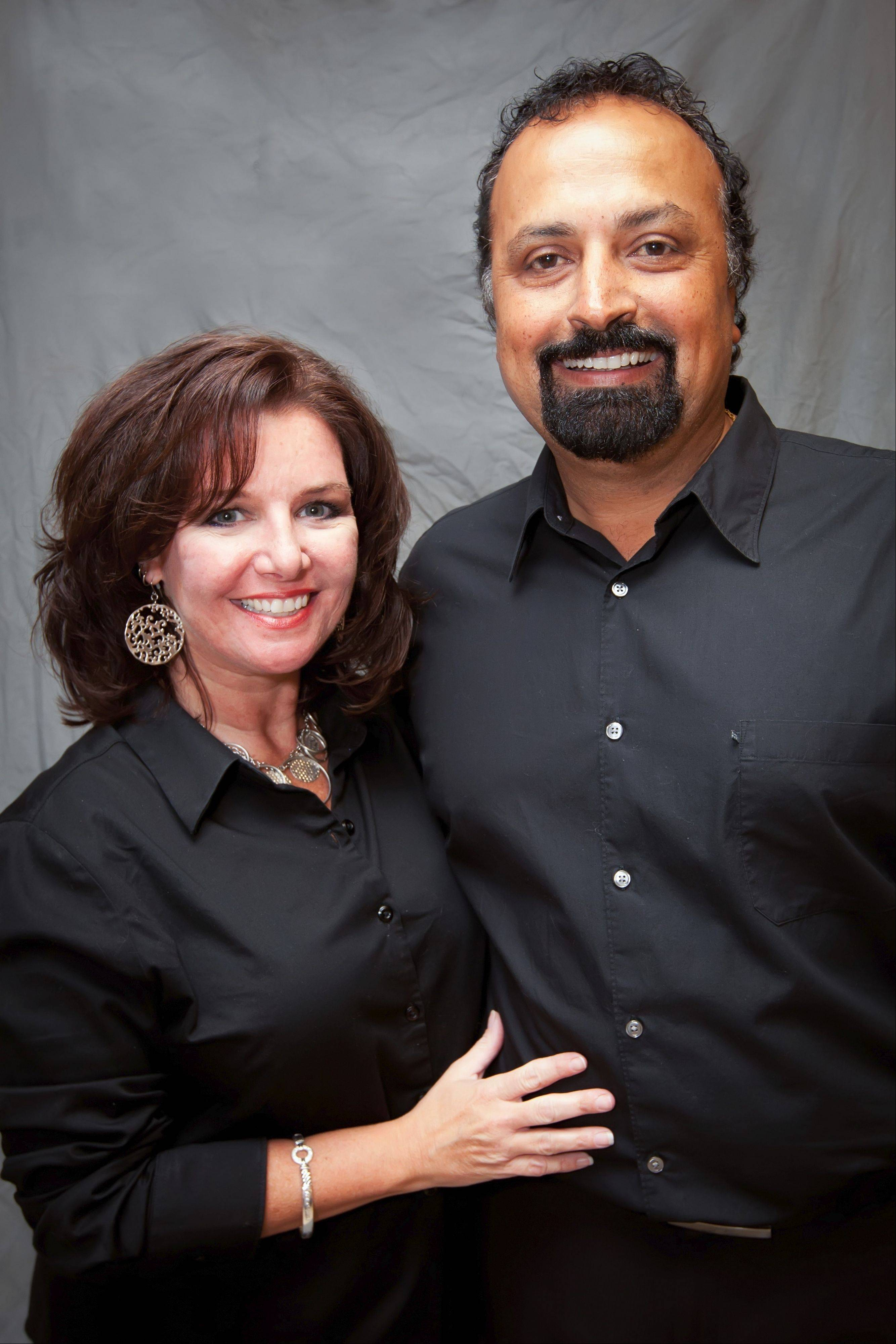 Kathy and Adil Jaffer